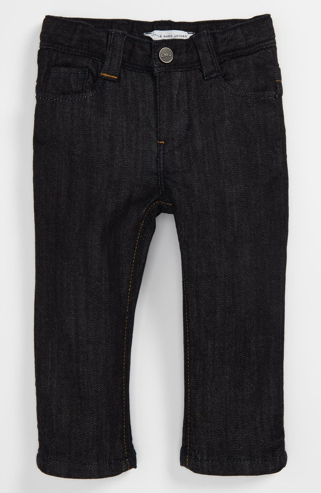 Alternate Image 2  - LITTLE MARC JACOBS Slim Fit Jeans (Toddler)