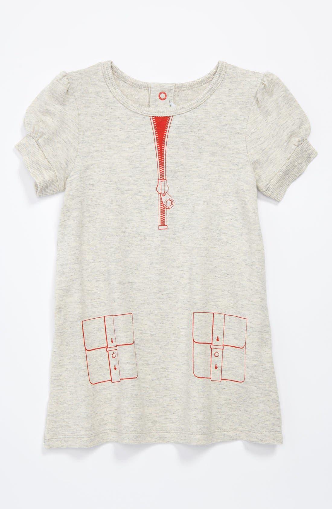 Alternate Image 1 Selected - LITTLE MARC JACOBS Print Pocket Dress (Toddler)