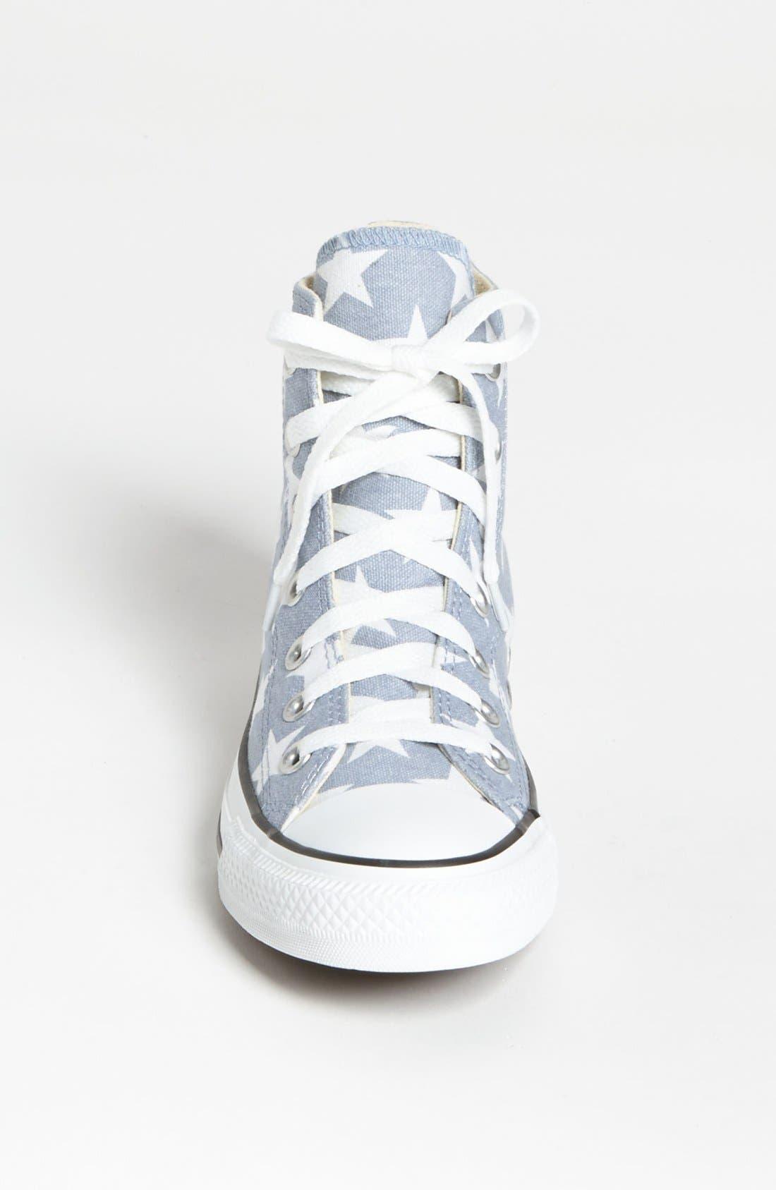 Alternate Image 3  - Converse Chuck Taylor® All Star® Stars High Top Sneaker (Women)