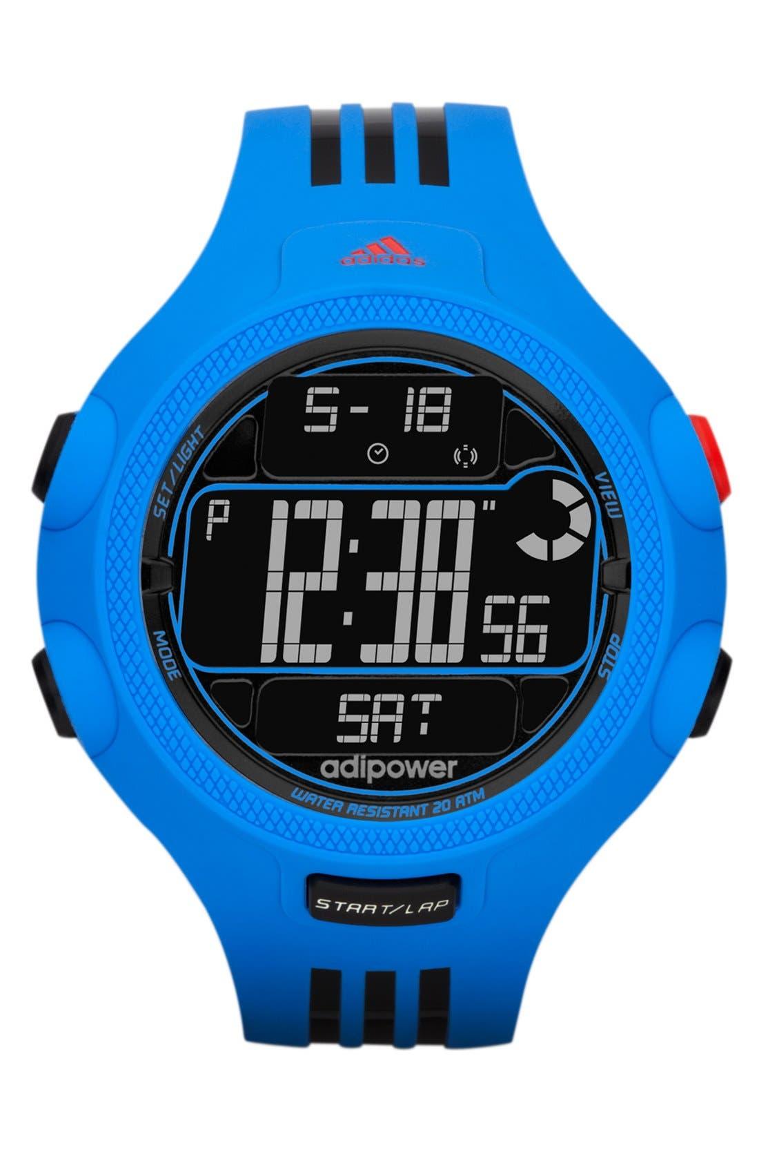 Main Image - adidas Performance 'adiPower' Digital Sport Watch, 50mm
