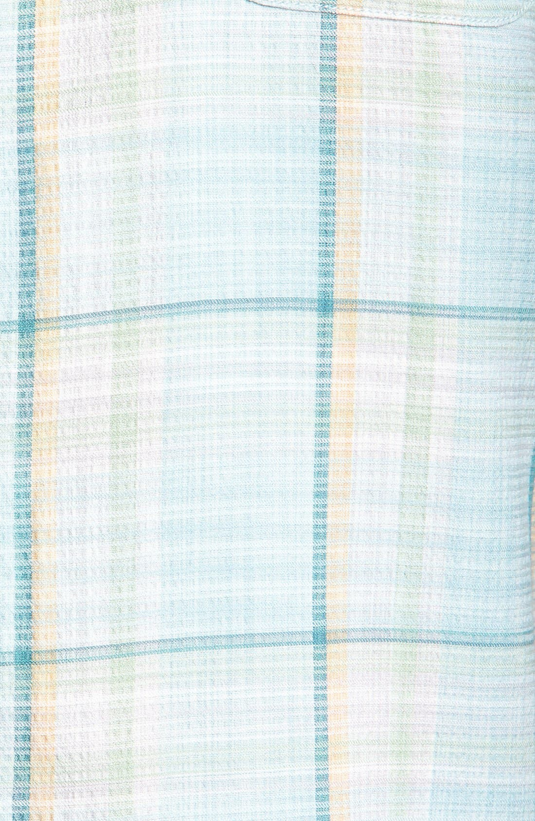 Alternate Image 3  - Tommy Bahama 'Plaid Manners' Campshirt