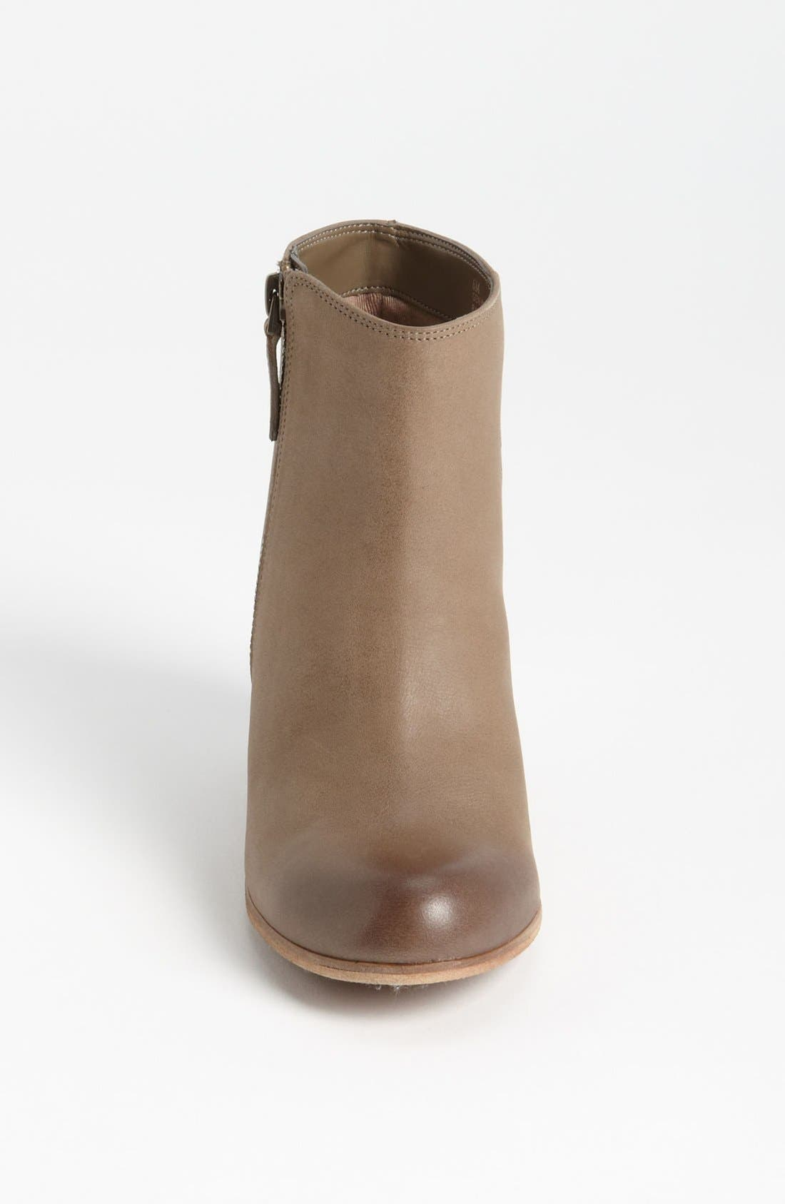 'Trolley'  Bootie,                             Alternate thumbnail 3, color,                             Grey Leather