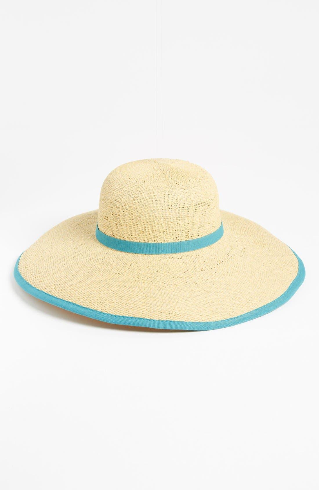 Main Image - Nordstrom Wire Brim Sun Hat