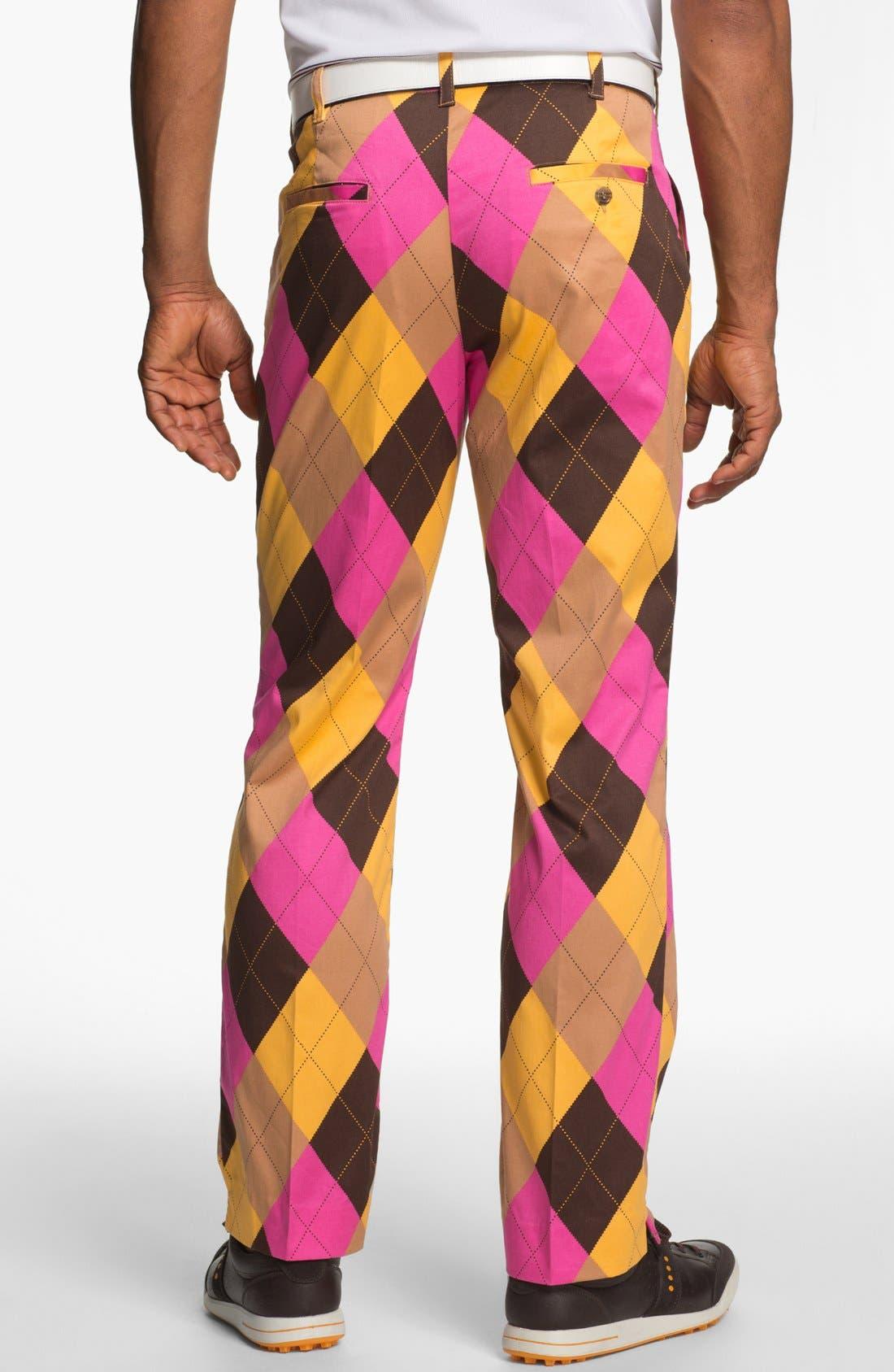 Alternate Image 2  - Loudmouth Golf 'Cupcake' Golf Pants