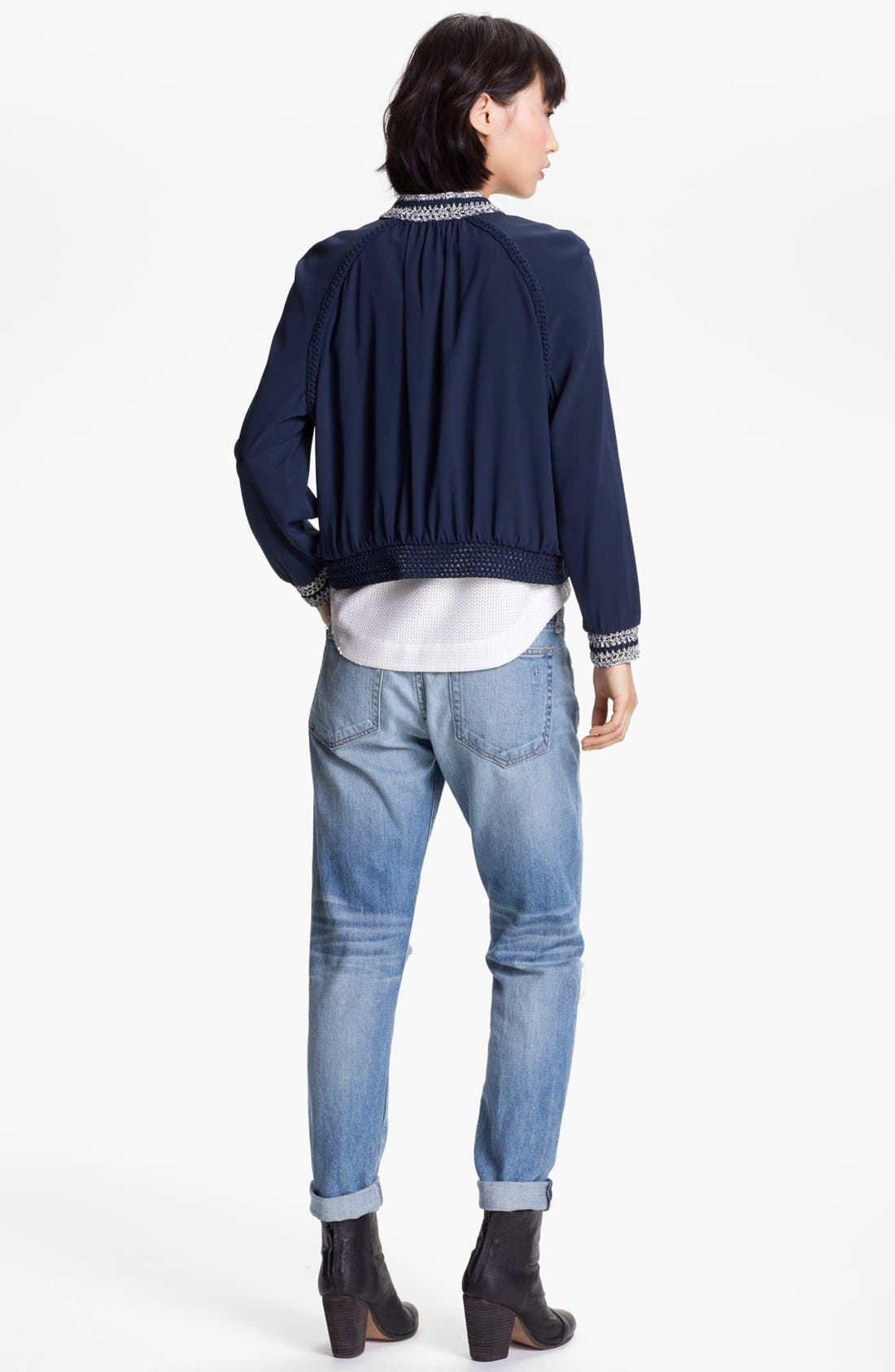 Alternate Image 5  - rag & bone 'Astrid' Zip Front Bomber Jacket