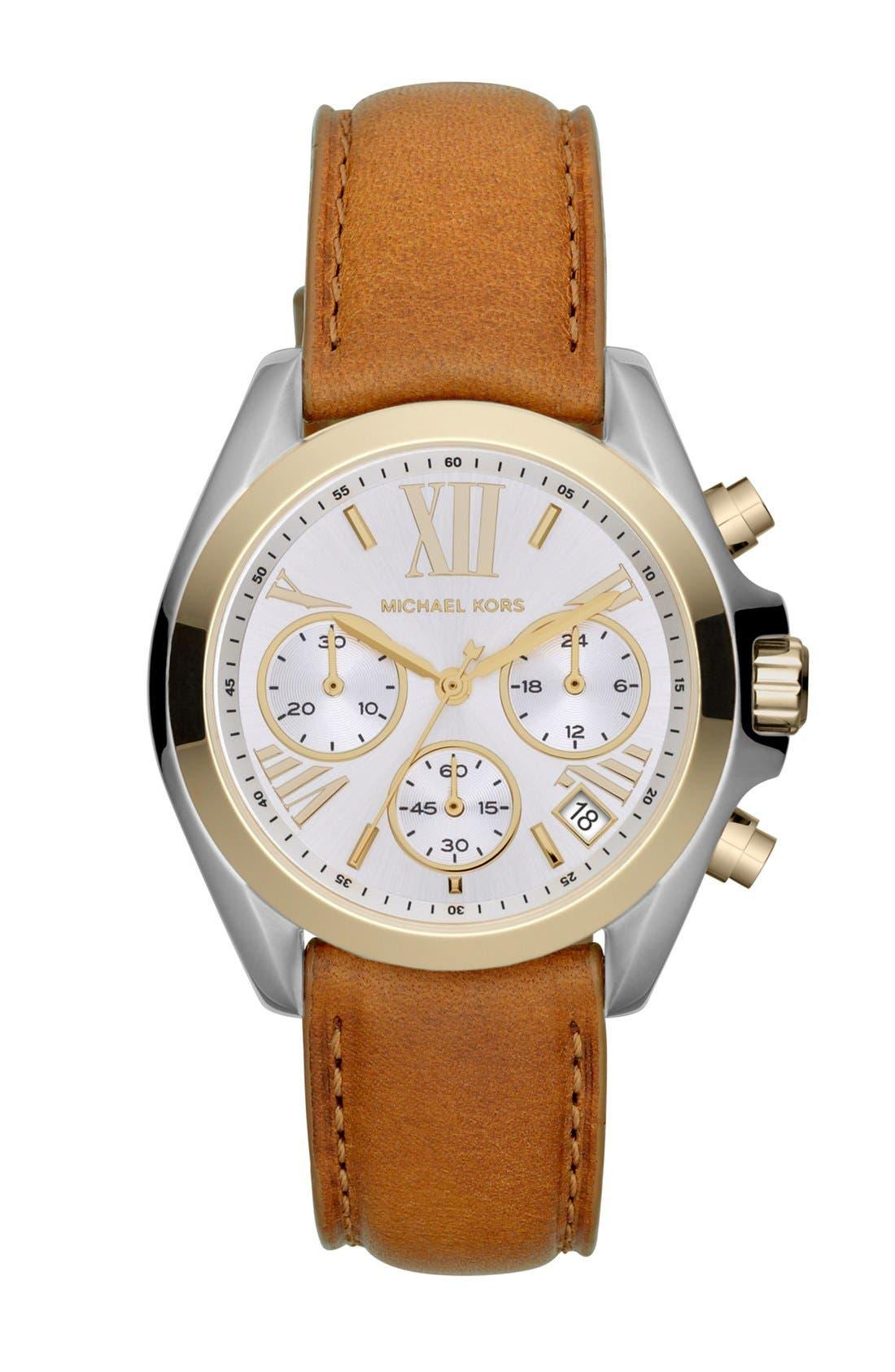 Alternate Image 1 Selected - Michael Kors 'Bradshaw - Mini' Chronograph Watch, 36mm
