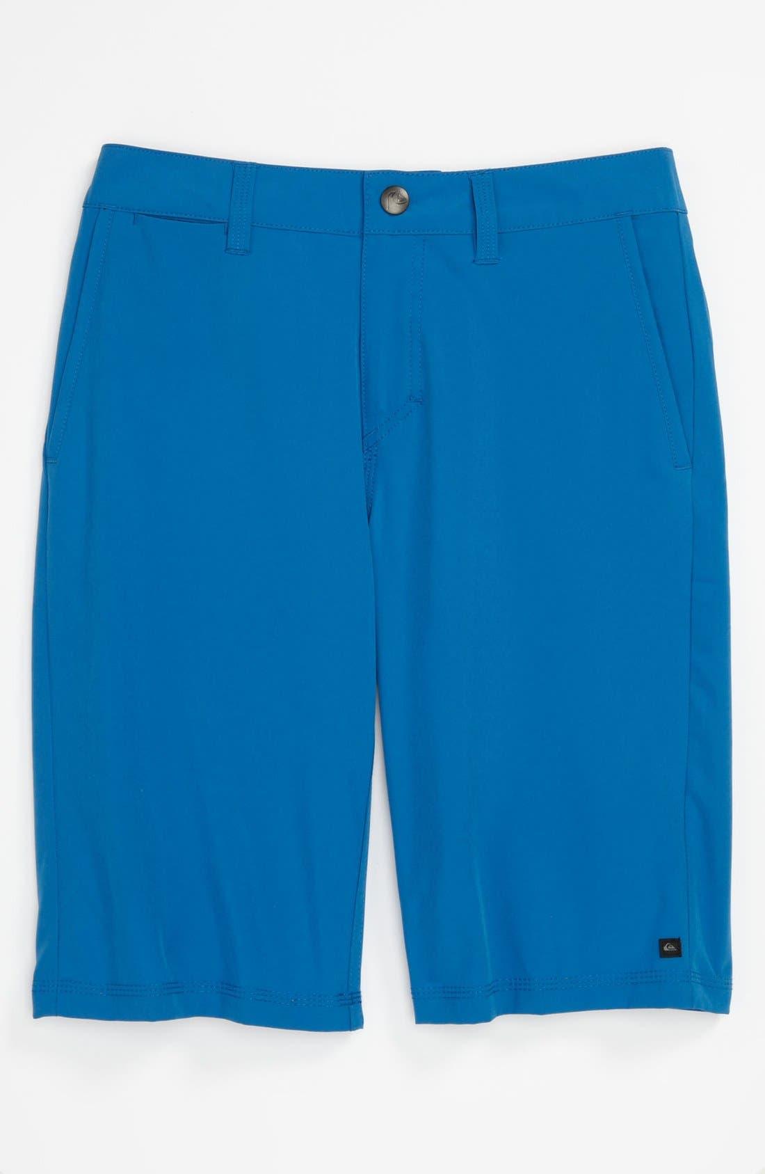 Main Image - Quiksilver 'F.A.A.' Water Repellent Shorts (Big Boys)