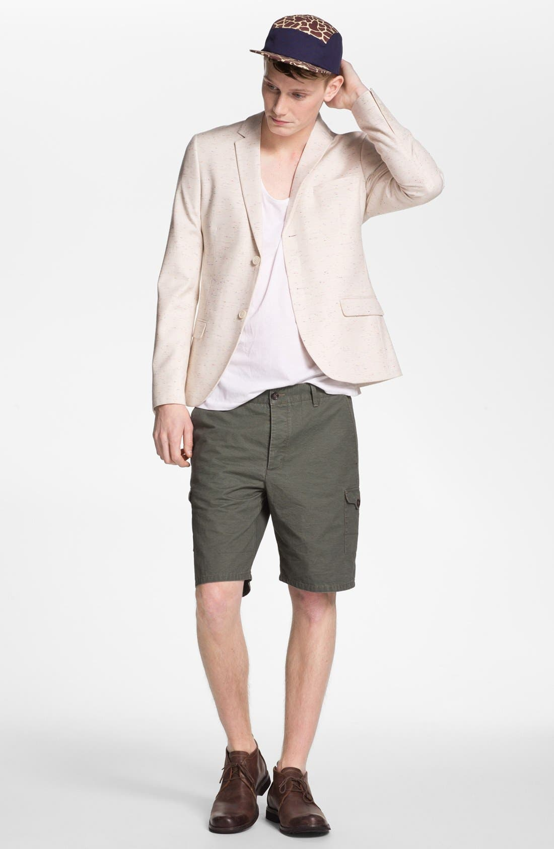 Alternate Image 2  - Topman Cargo Shorts