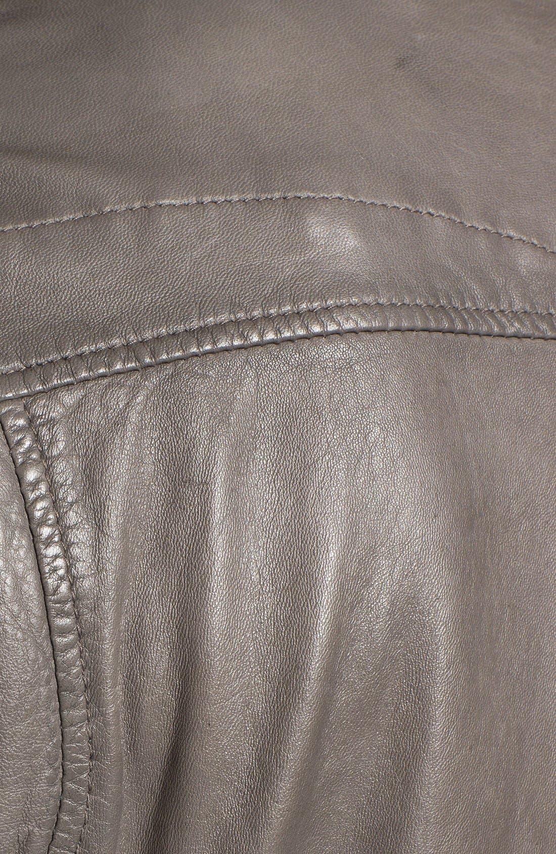 Alternate Image 3  - BOSS Orange 'Joco' Leather Jacket