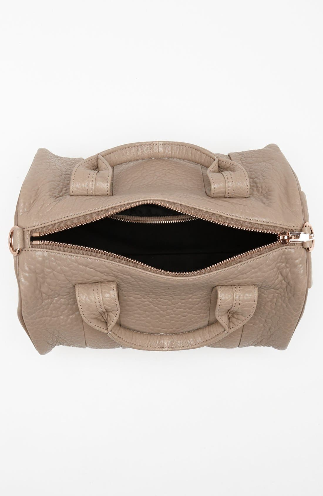 Alternate Image 3  - Alexander Wang 'Rocco - Rosegold' Leather Satchel