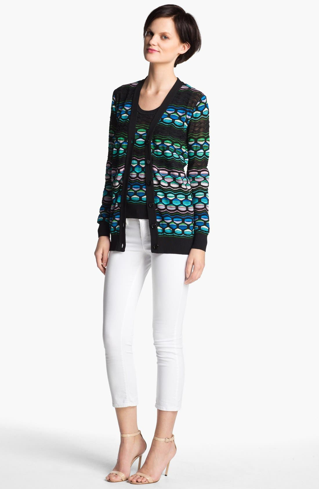 Main Image - M Missoni Pucker Wave Cardigan