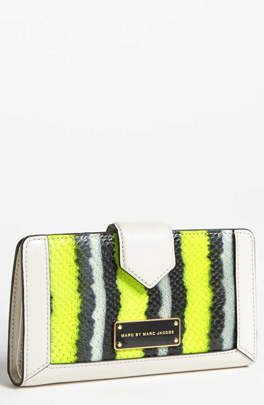 Main Image - MARC BY MARC JACOBS 'Double Trouble Snakey - Medium' Wallet