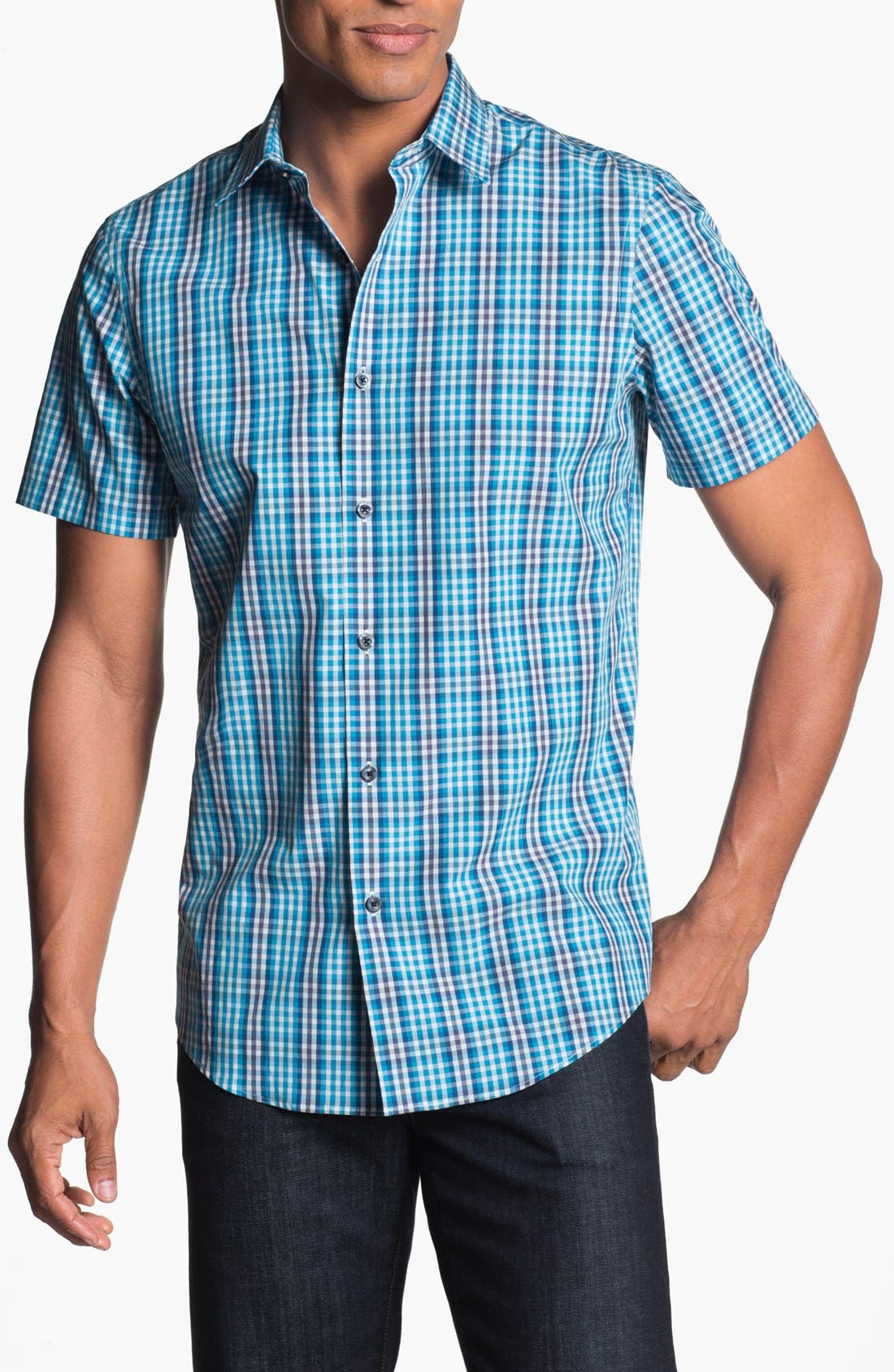 Main Image - Calibrate Short Sleeve Sport Shirt