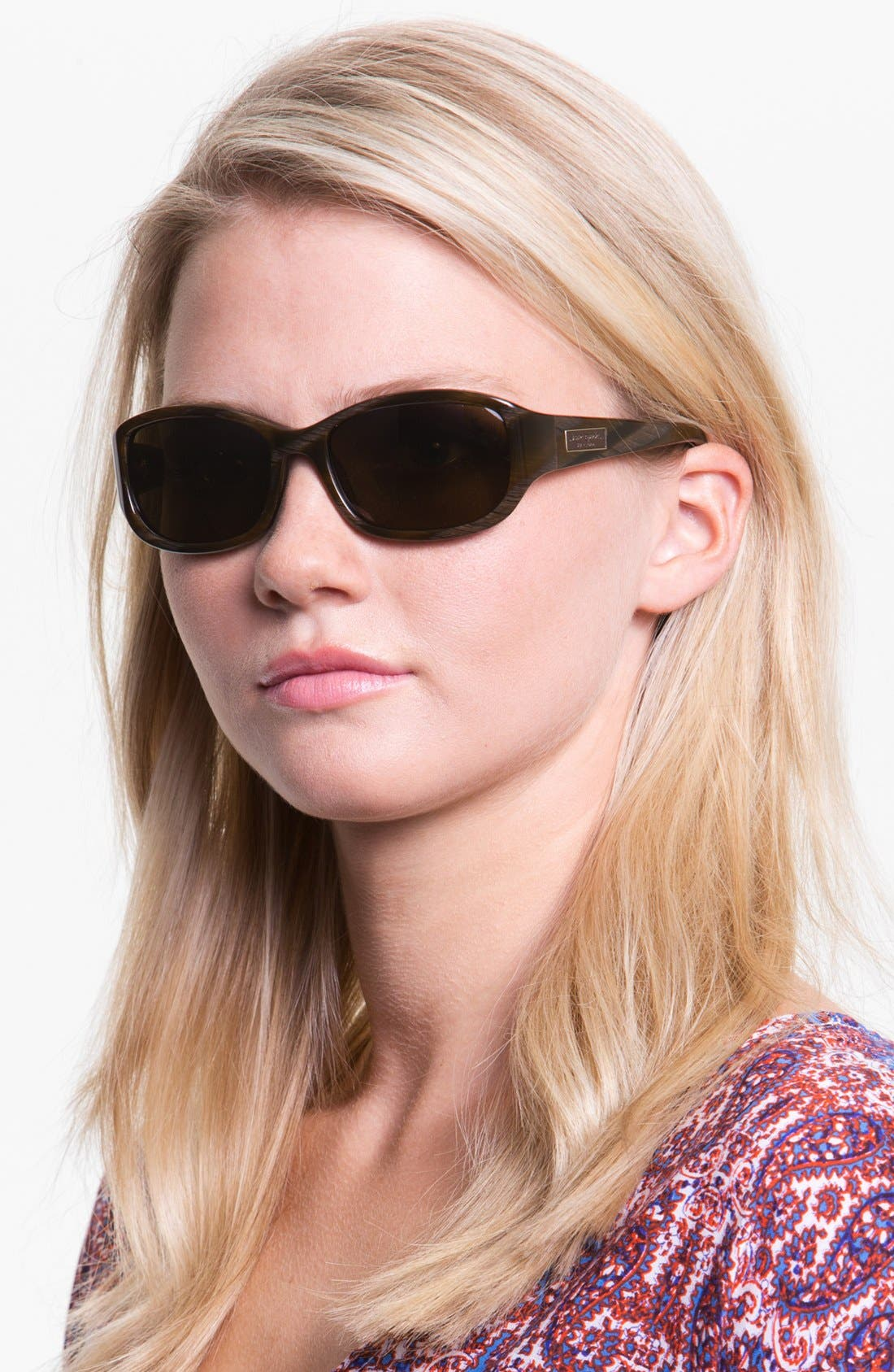 Alternate Image 2  - kate spade new york 'diana' 54mm polarized sunglasses
