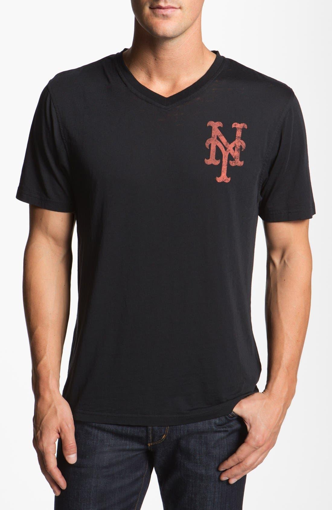 Alternate Image 1 Selected - Red Jacket 'Mets - V-Wood' T-Shirt