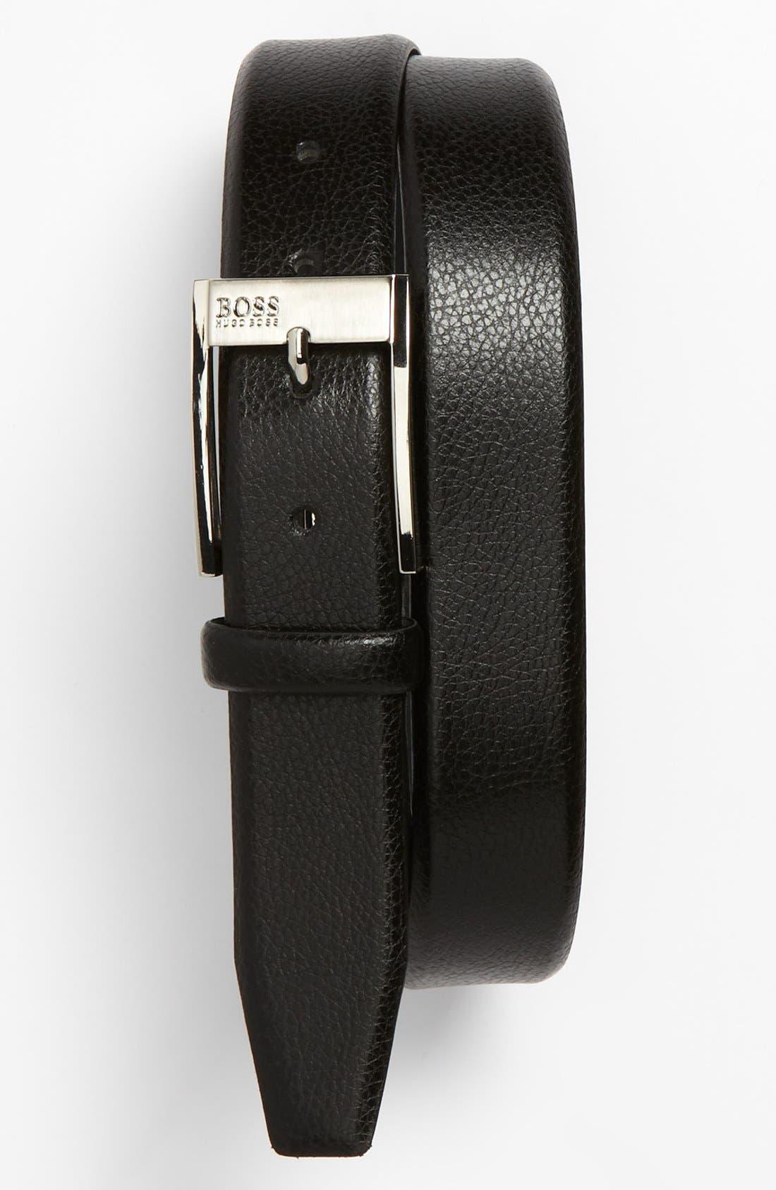Alternate Image 1 Selected - BOSS Black 'Ellot' Belt