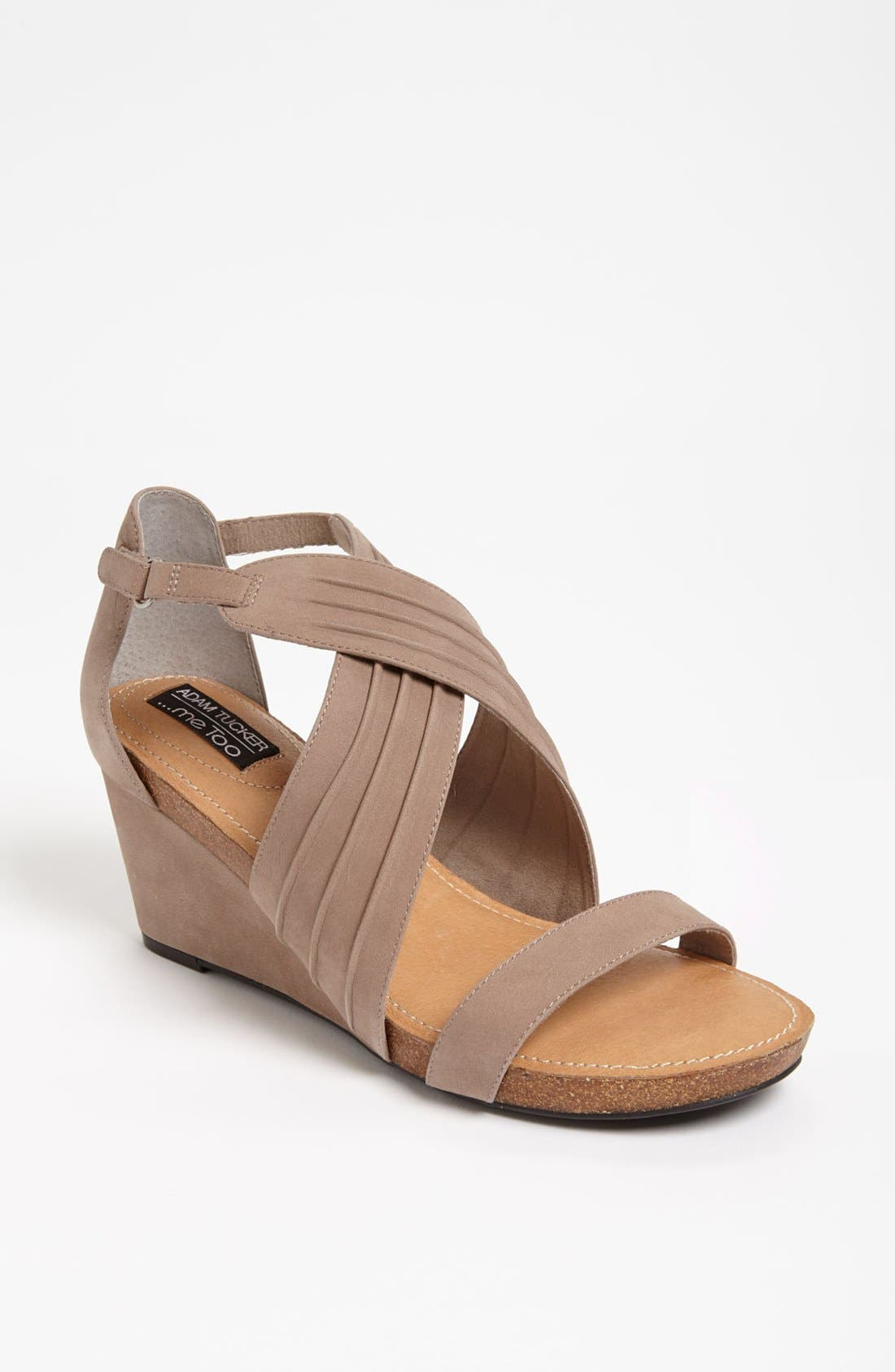 Alternate Image 1 Selected - Adam Tucker Me Too 'Kamila' Wedge Sandal