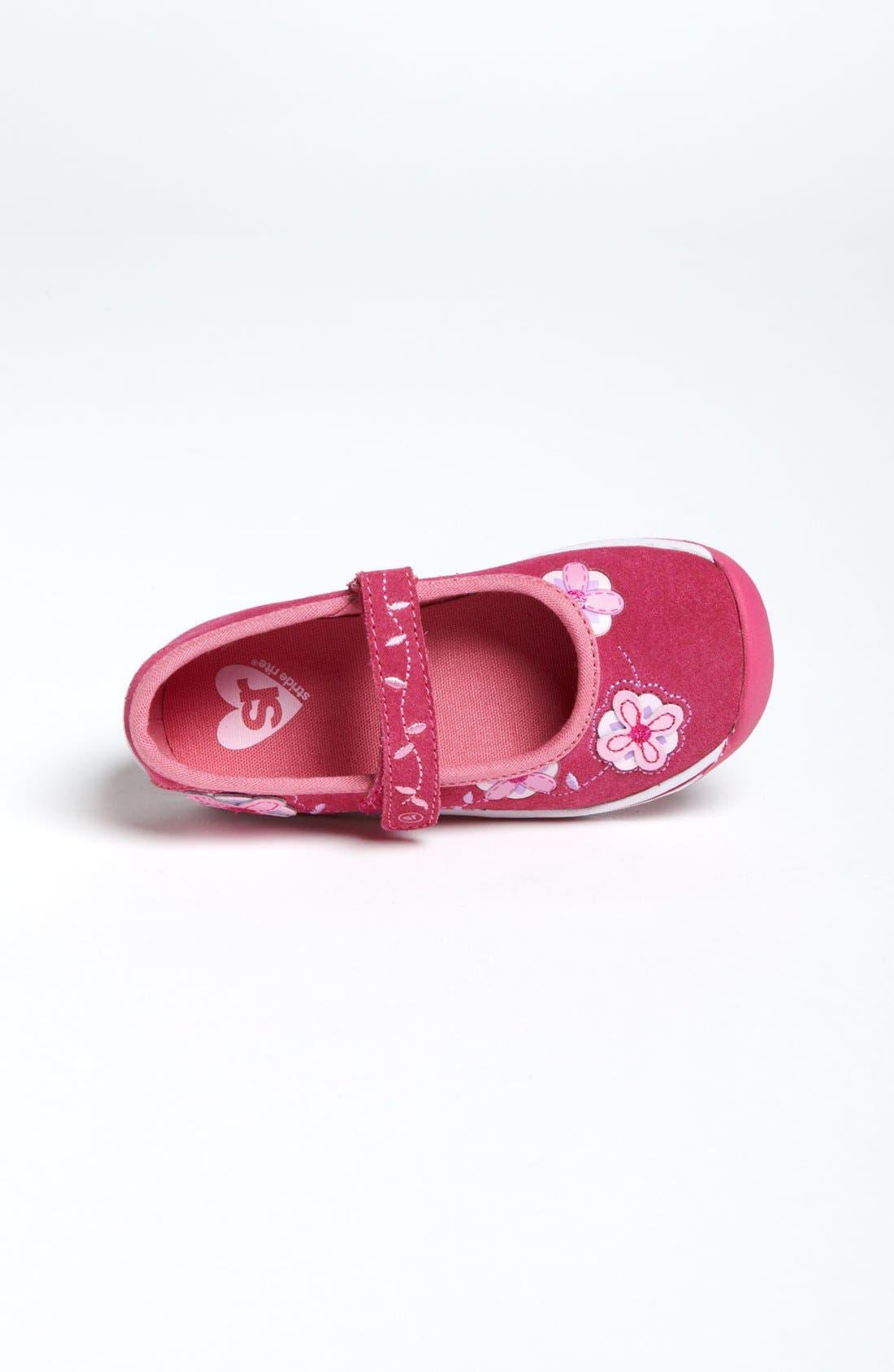 Alternate Image 3  - Stride Rite 'Jessie' Mary Jane Sneaker (Baby, Walker & Toddler)