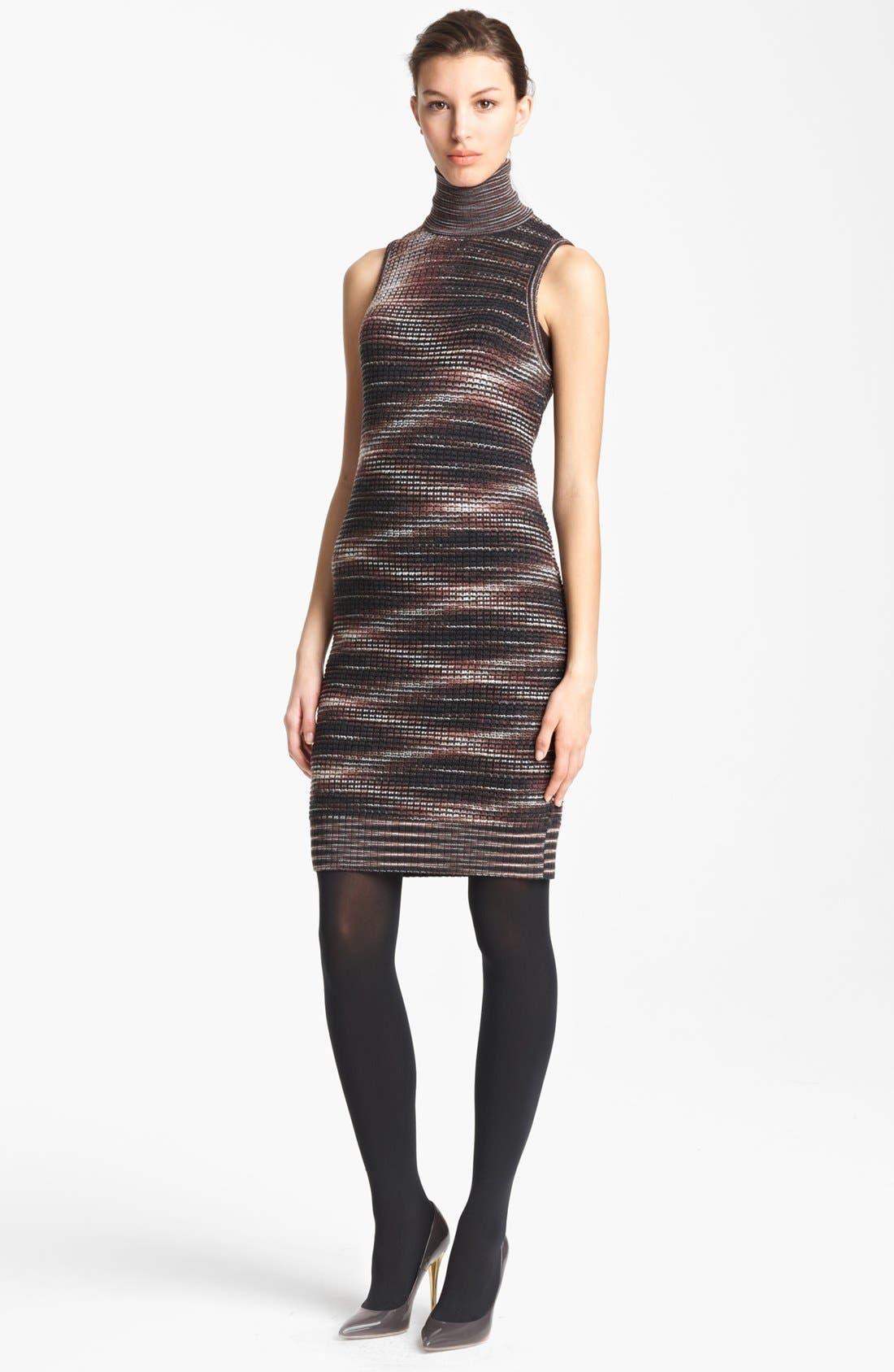 Alternate Image 1 Selected - Missoni Stripe Turtleneck Dress