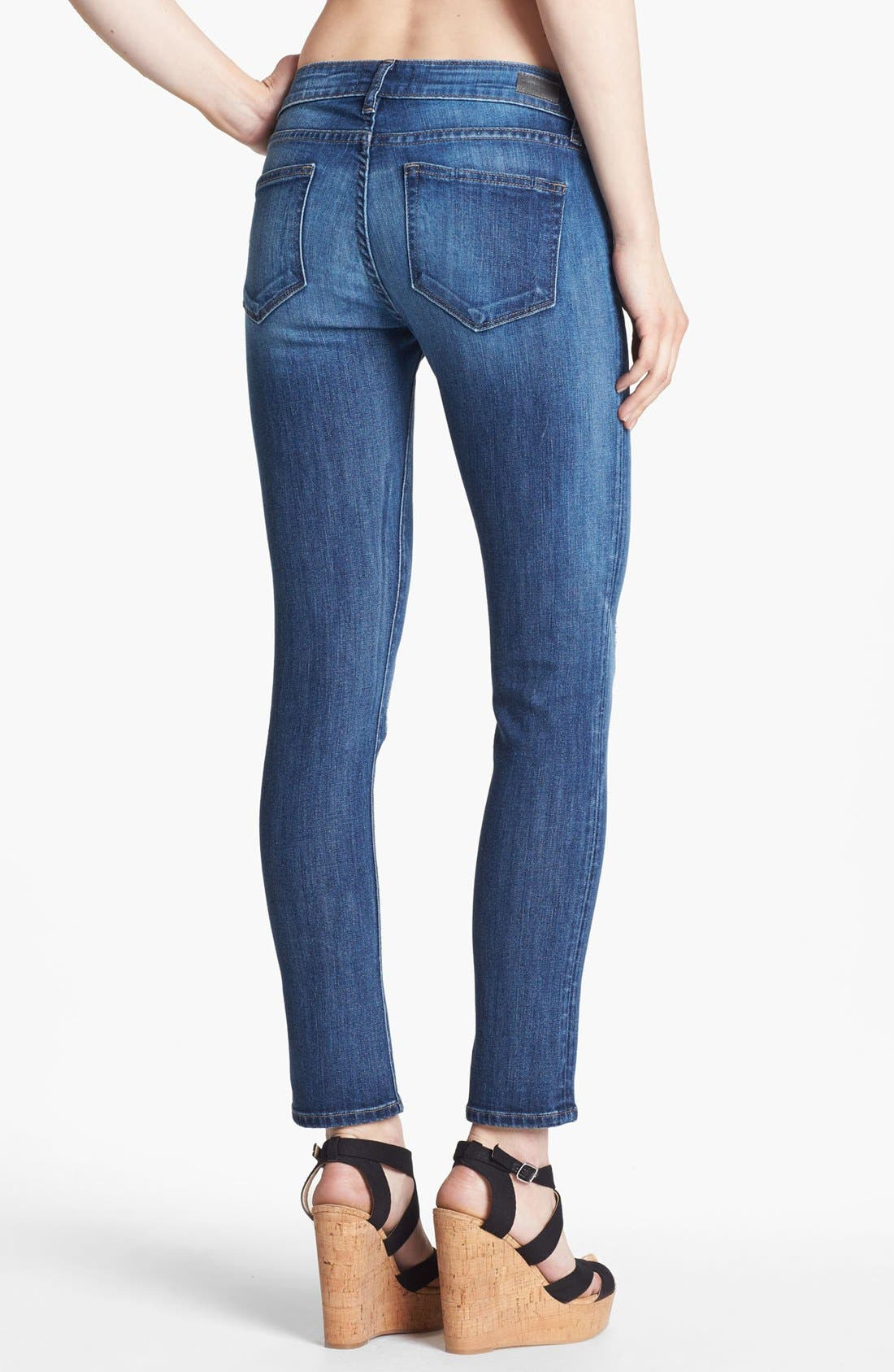 Alternate Image 2  - Paige Denim 'Skyline' Ankle Peg Skinny Stretch Jeans (Penelope)