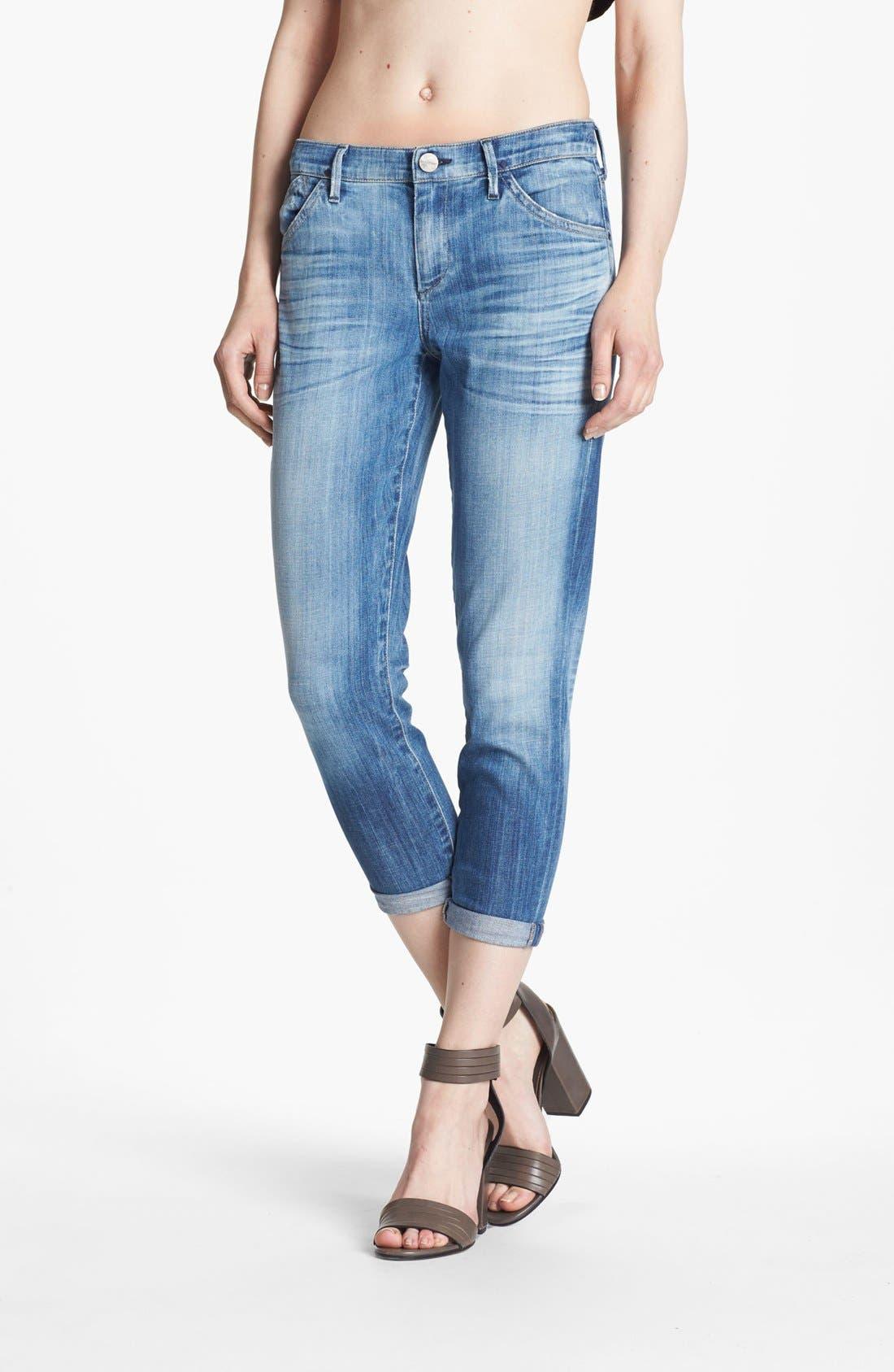 Alternate Image 1 Selected - Goldsign 'Glam' Skinny Crop Jeans (Tatiana)
