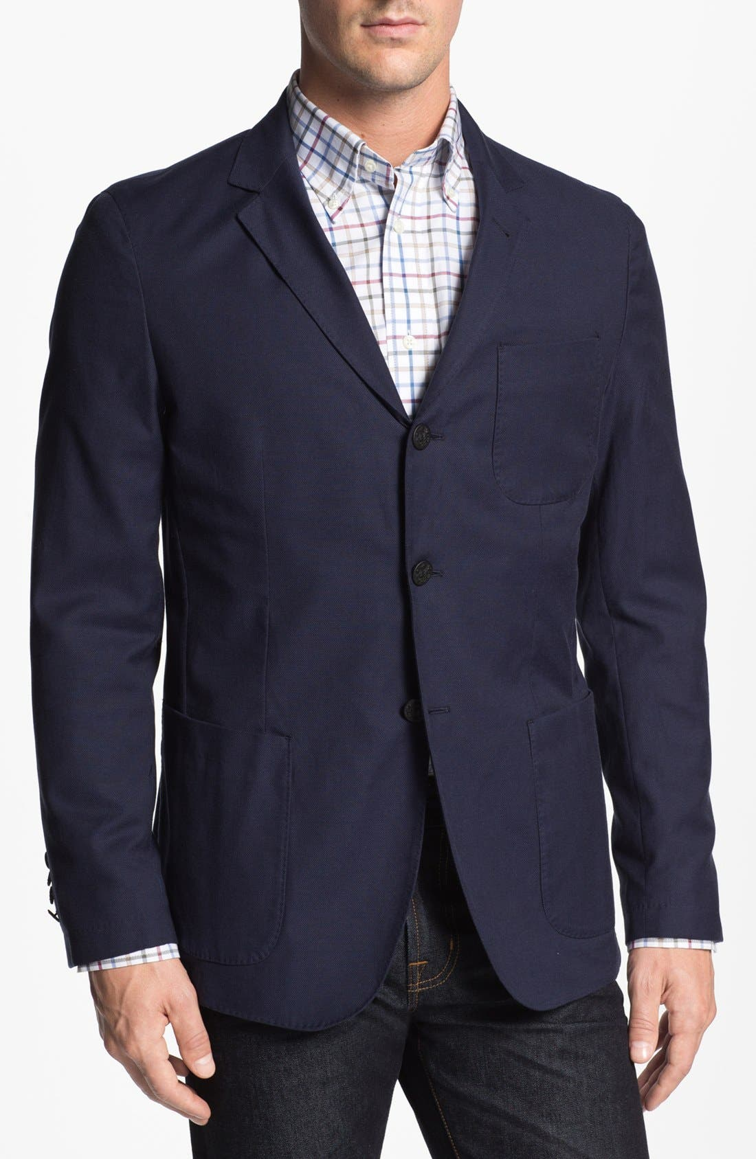 Main Image - Façonnable 'Veste' Piqué Sportcoat