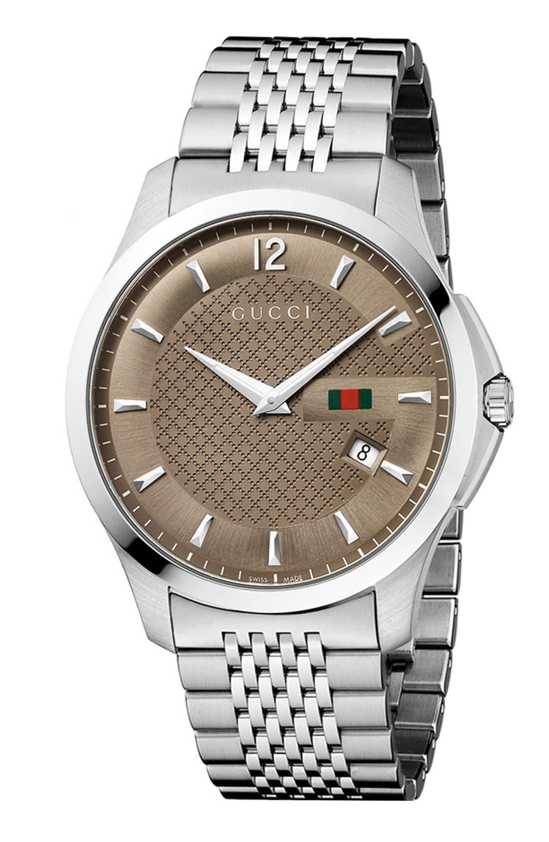 Main Image - Gucci 'G-Timeless' Bracelet Watch, 40mm