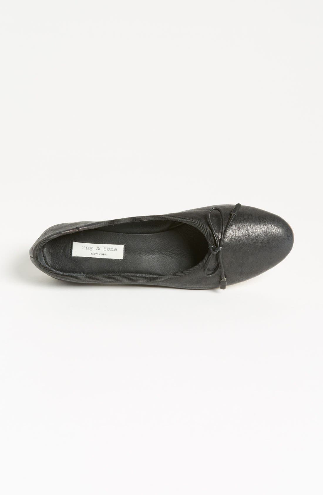 Alternate Image 3  - rag & bone 'Windsor' Skimmer Flat