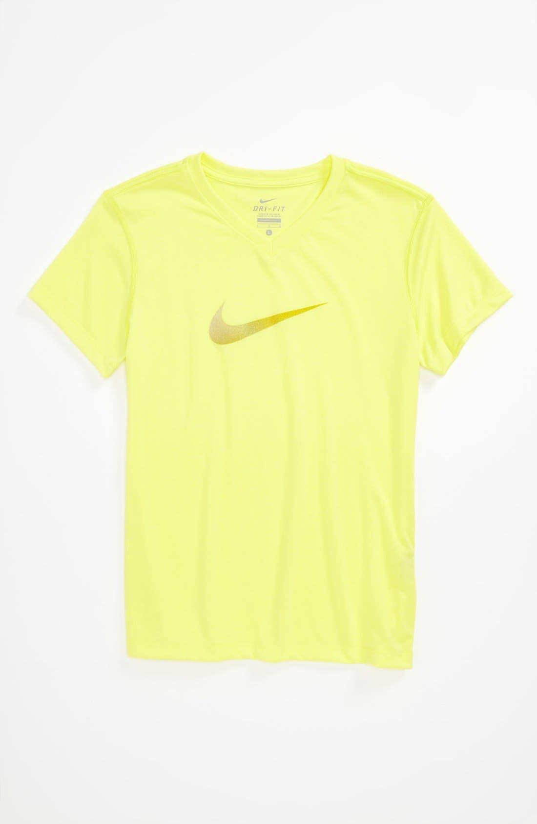 Main Image - Nike 'Legend' Tee (Big Girls)