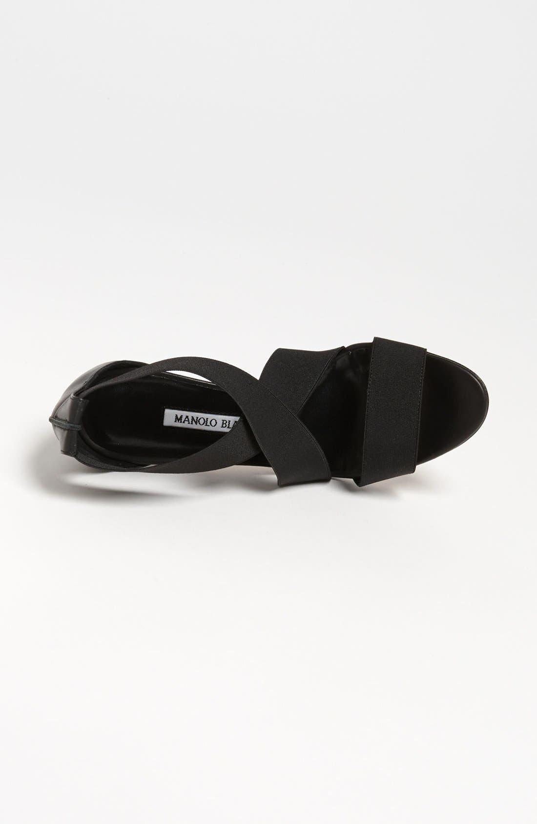 Alternate Image 3  - Manolo Blahnik 'Kandita-Mod' Sandal