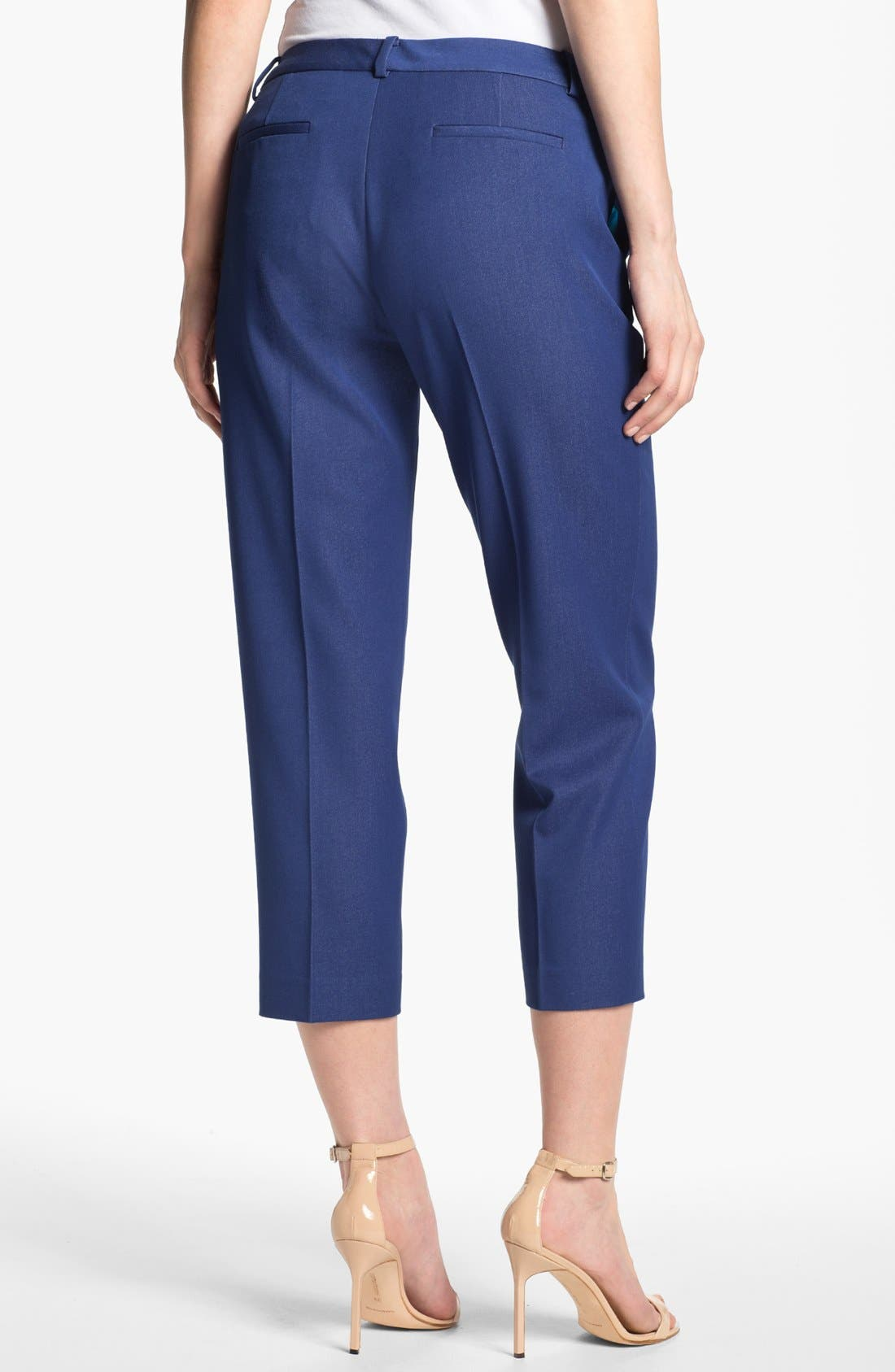Alternate Image 3  - T Tahari 'Cabana' Crop Pants (Petite) (Online Only)