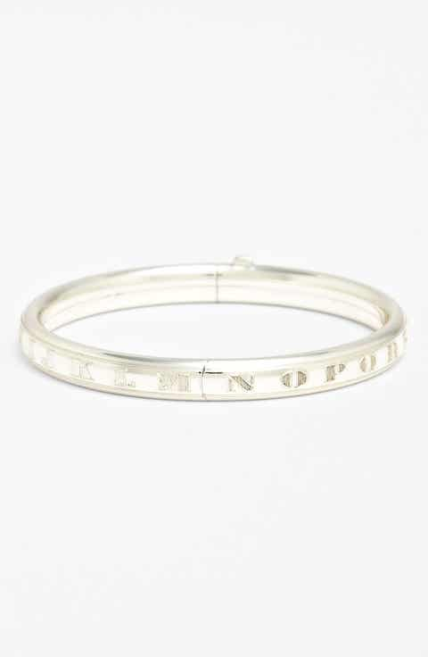 Personalized baby gifts nordstrom sterling silver alphabet bracelet infant negle Gallery