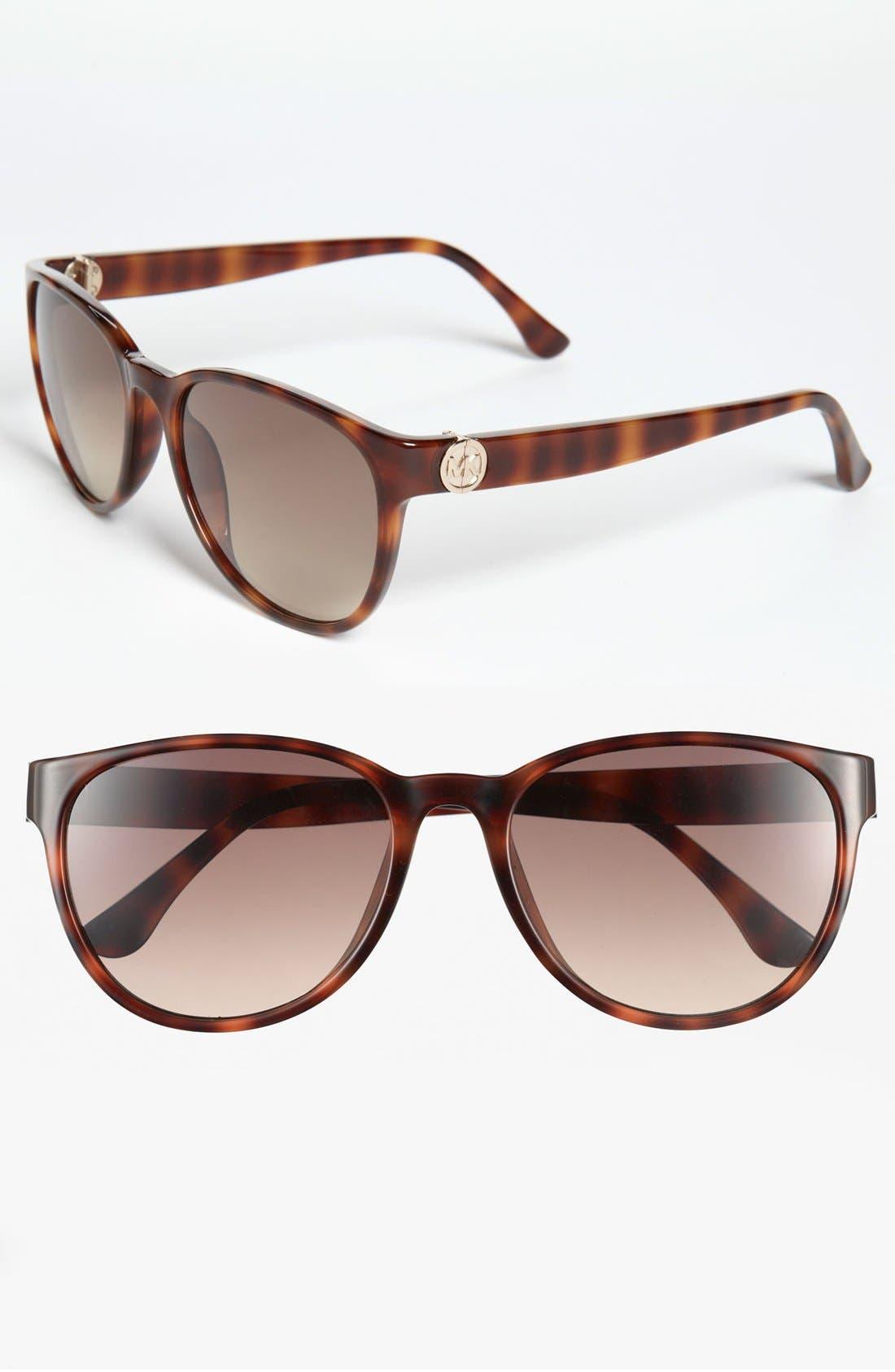 Alternate Image 1 Selected - MICHAEL Michael Kors 'Leslie' 55mm Sunglasses