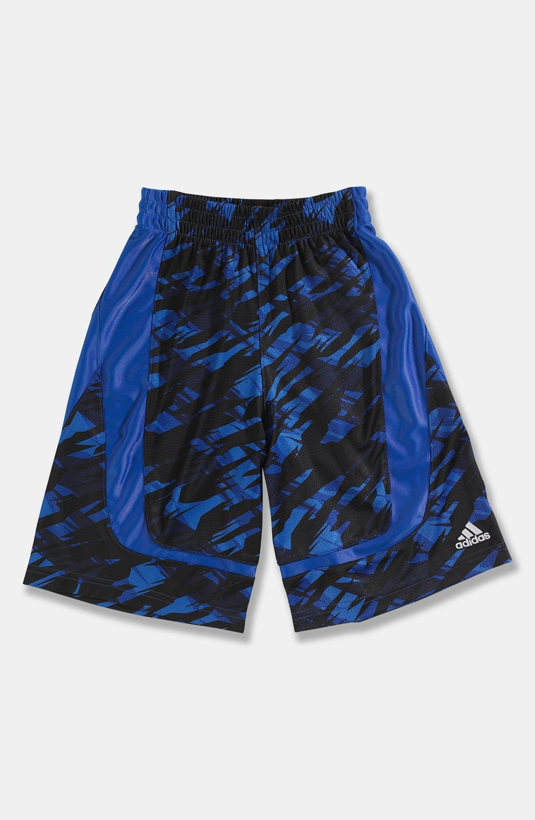 Alternate Image 1 Selected - adidas 'Impact Camo' Court Shorts (Little Boys)