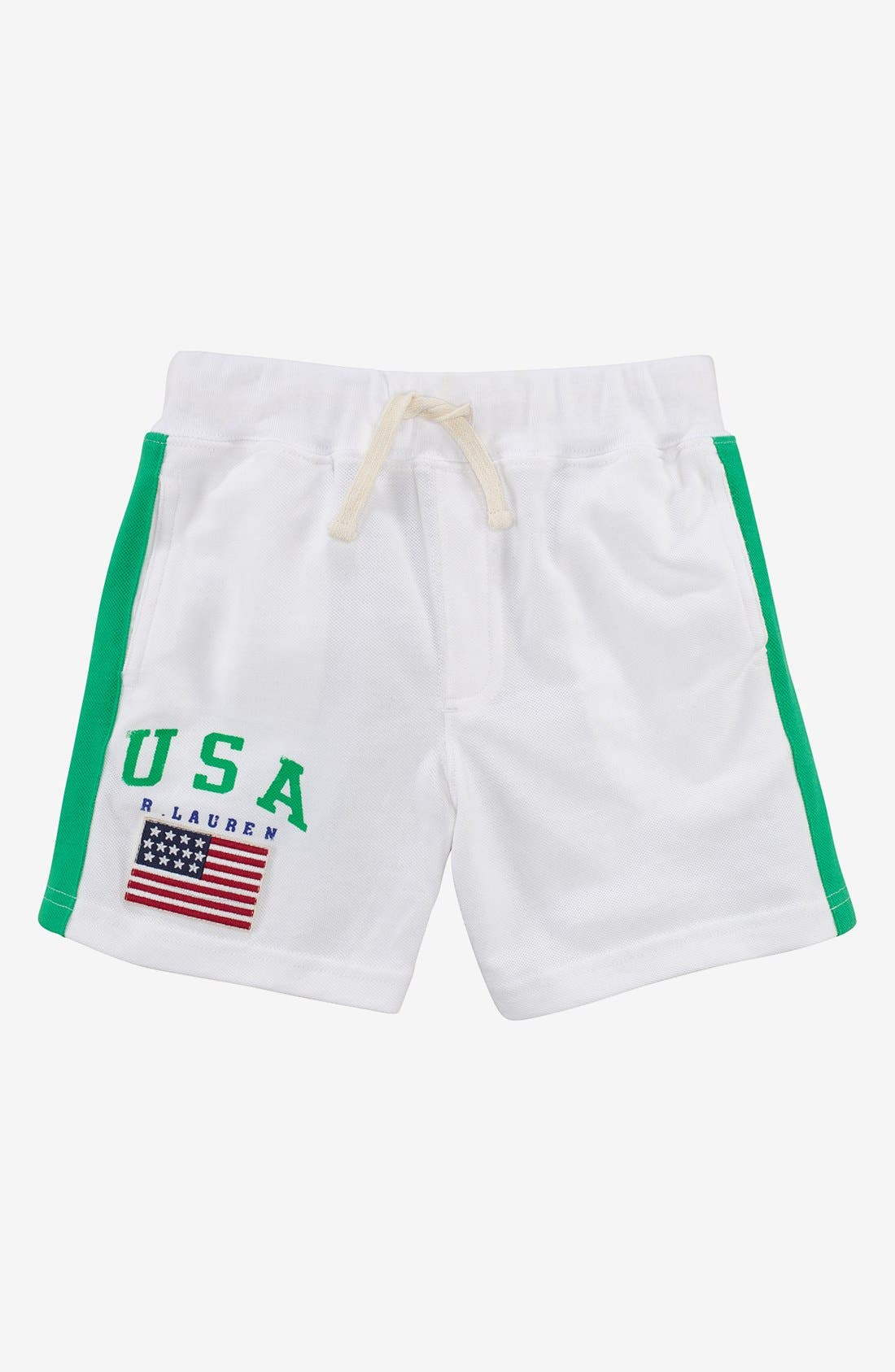 Alternate Image 1 Selected - Polo Ralph Lauren Shorts (Toddler)