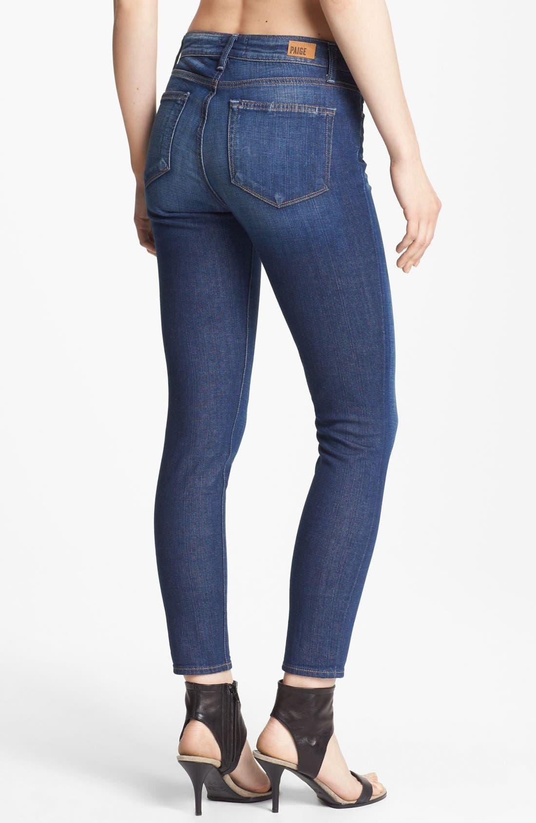 Alternate Image 2  - Paige Denim 'Hoxton' Ankle Jeans (Journey)