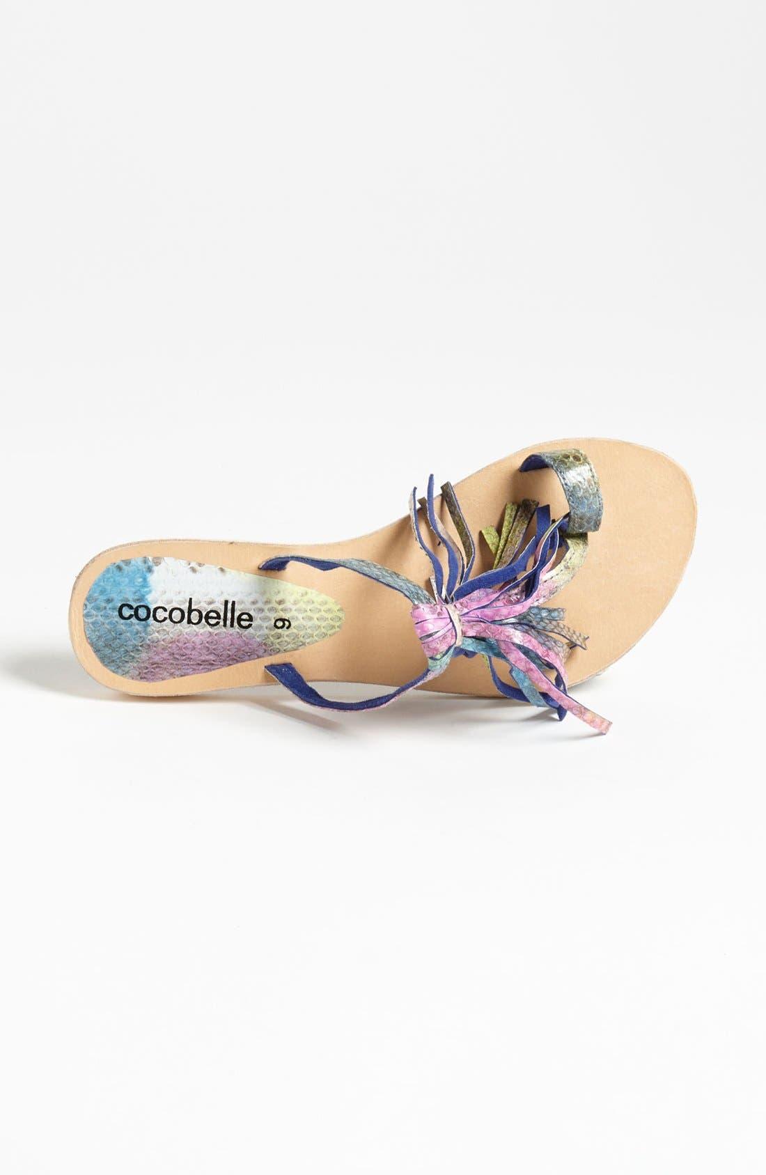 Alternate Image 3  - Cocobelle Fringe Sandal