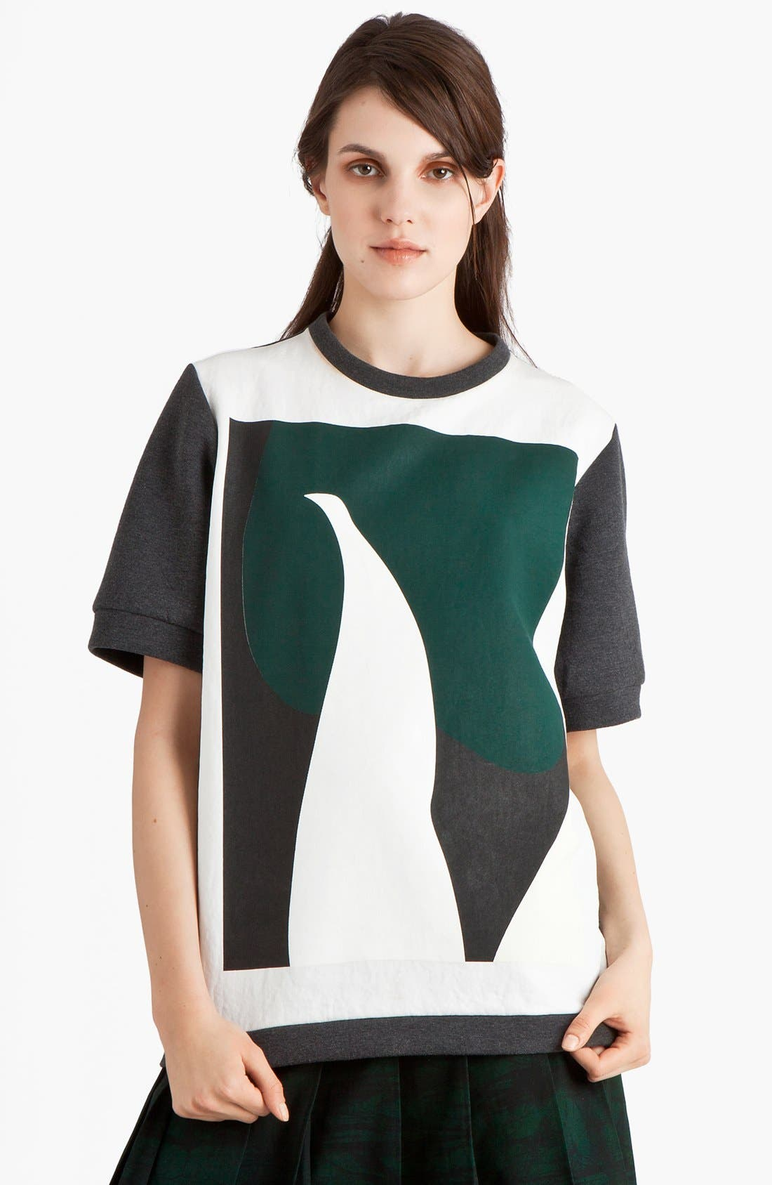 Alternate Image 1 Selected - Marni Print Sweatshirt