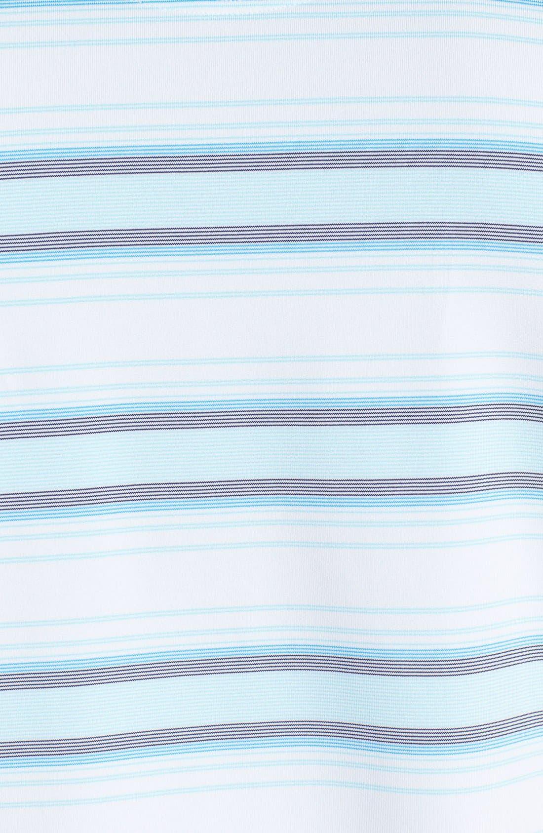 Alternate Image 3  - Lone Cypress Pebble Beach Striped Polo Shirt