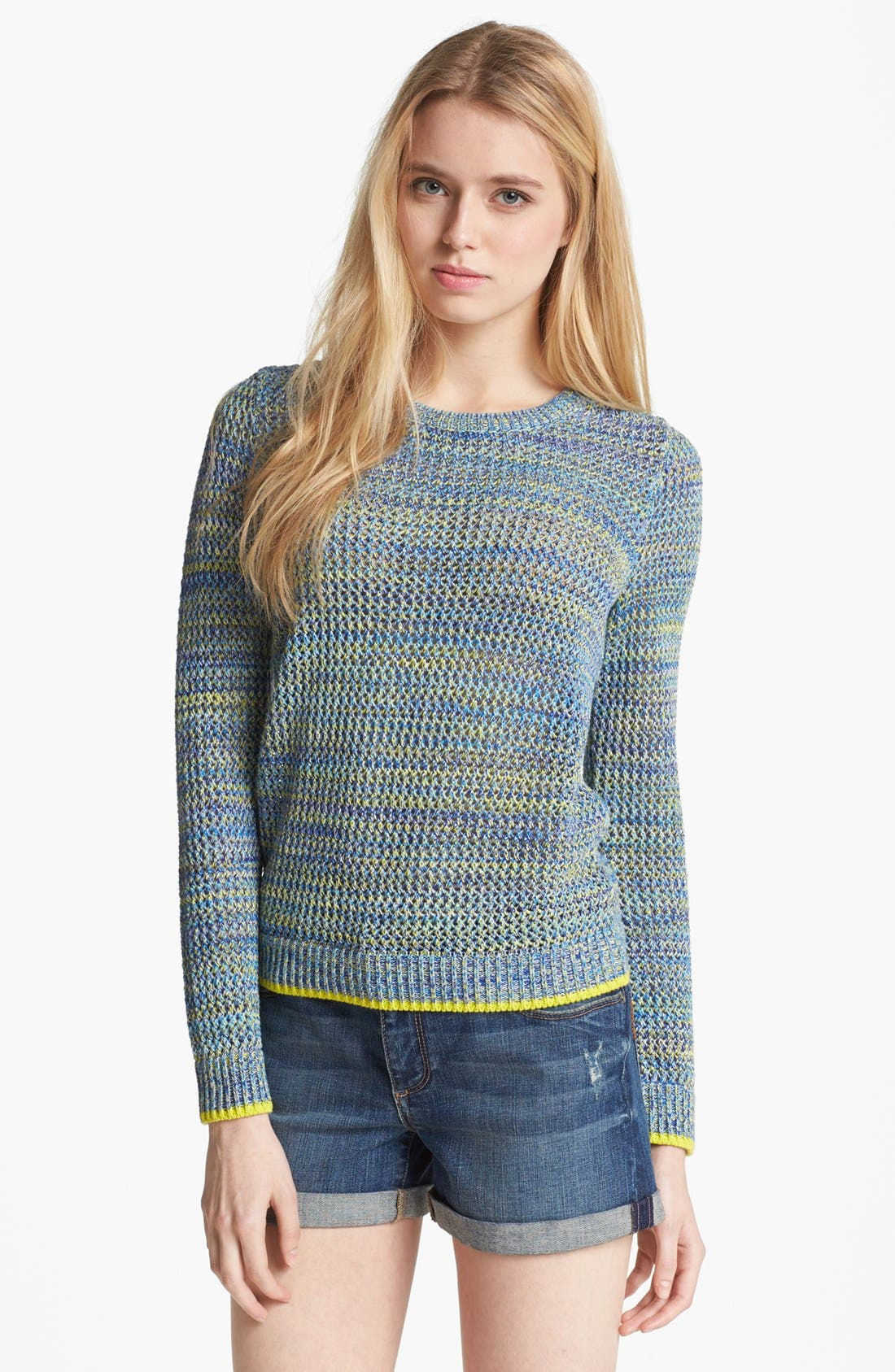 Alternate Image 1 Selected - Joie 'Carlee' Cotton Sweater