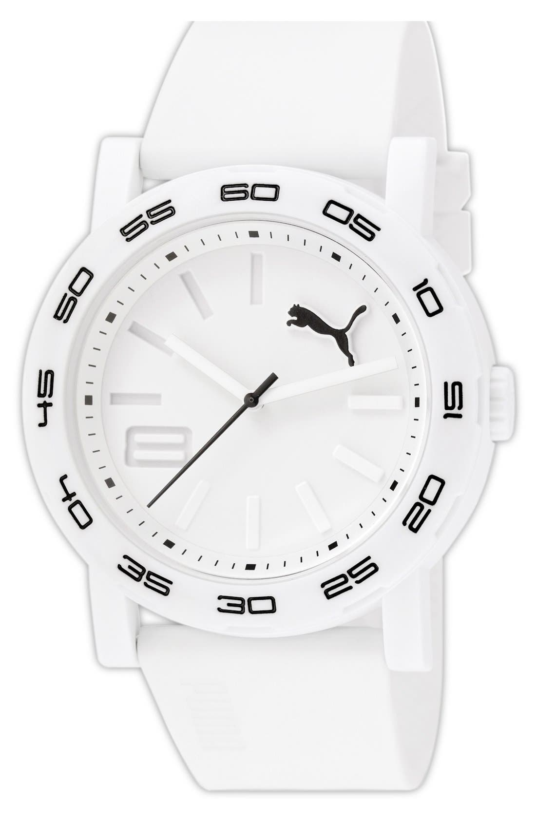 Alternate Image 1 Selected - PUMA 'Move' Round Watch, 45mm