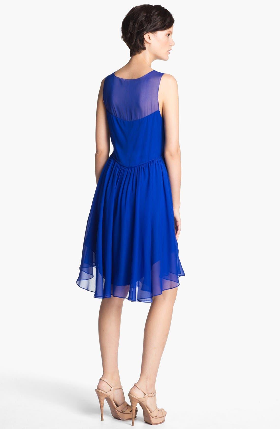 Alternate Image 2  - Haute Hippie 'Betsee' Silk Chiffon Dress