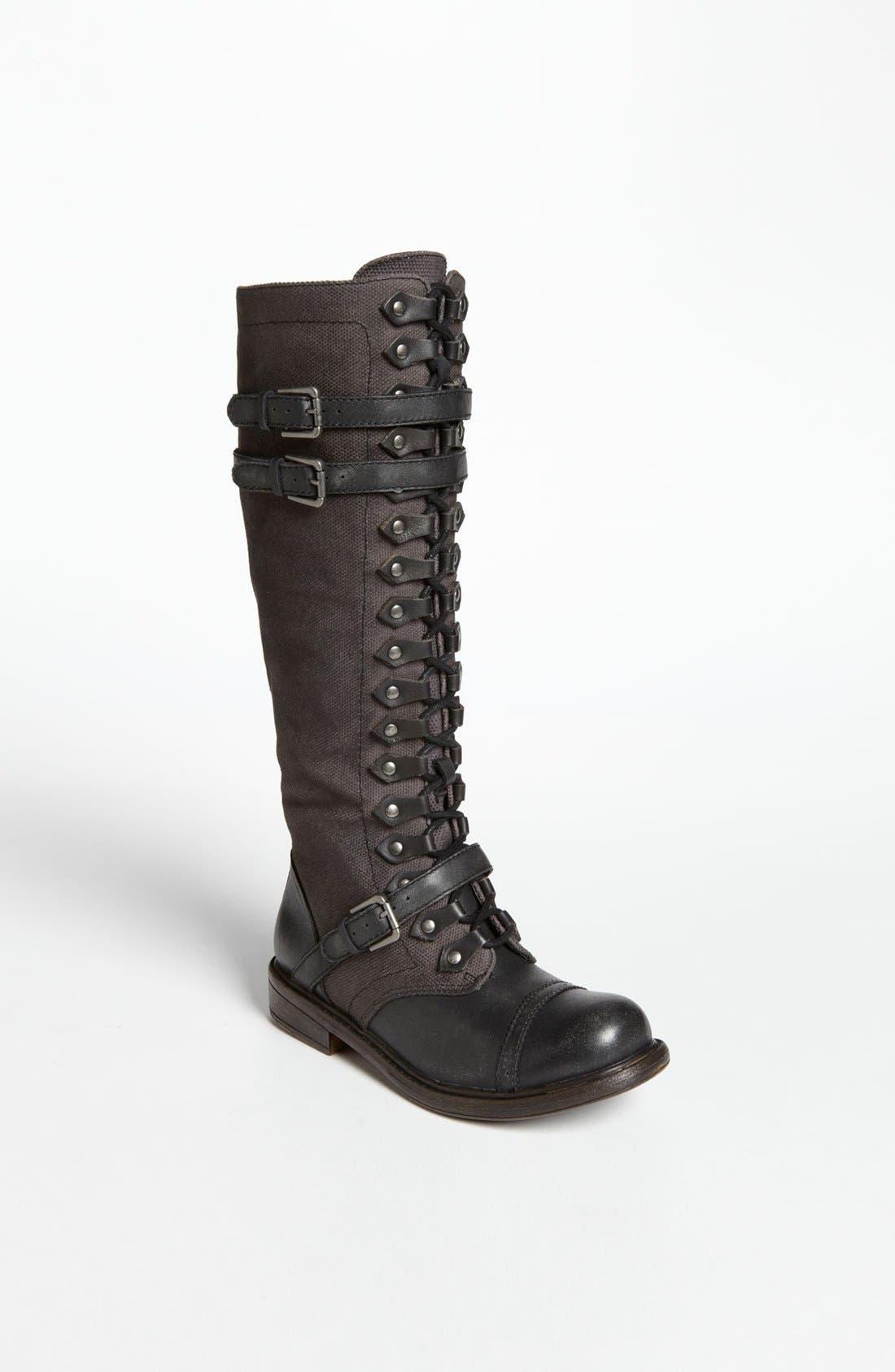 'Talia' Boot,                             Main thumbnail 1, color,                             Black