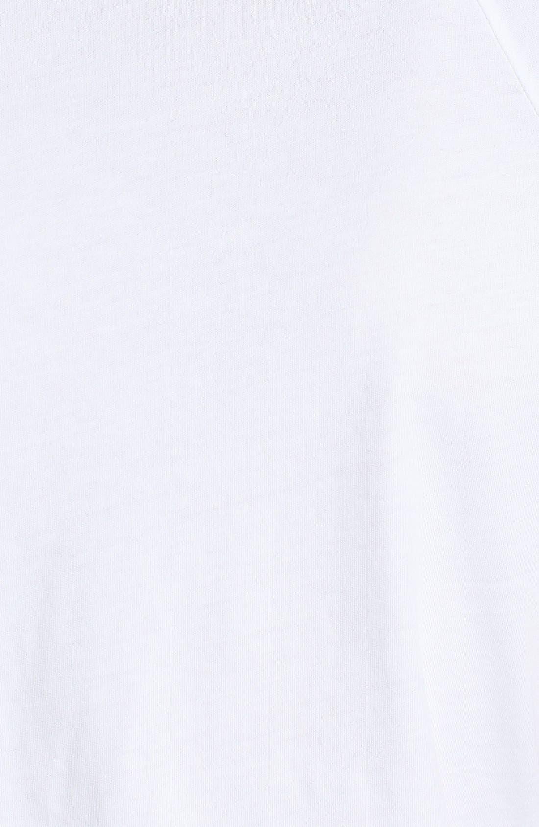 Alternate Image 3  - AG Short Sleeve Raglan Henley T-Shirt