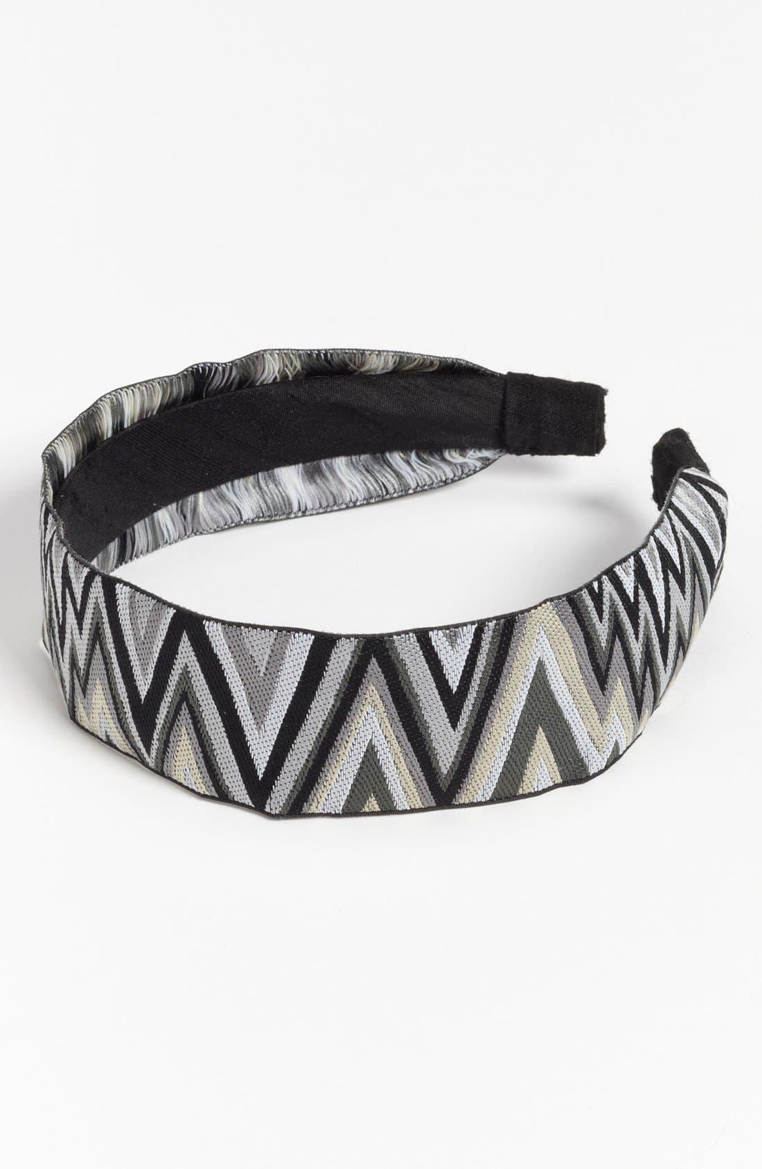 Alternate Image 1 Selected - L. Erickson Silk Ribbon Headband