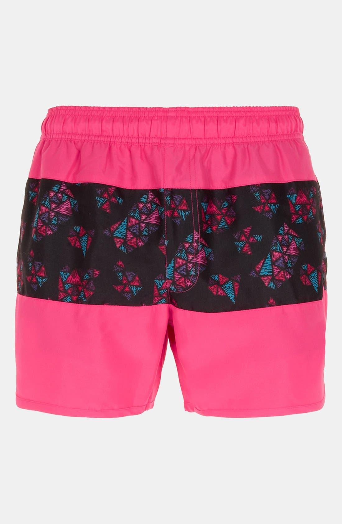 Main Image - Topman 'Rio' Swim Shorts