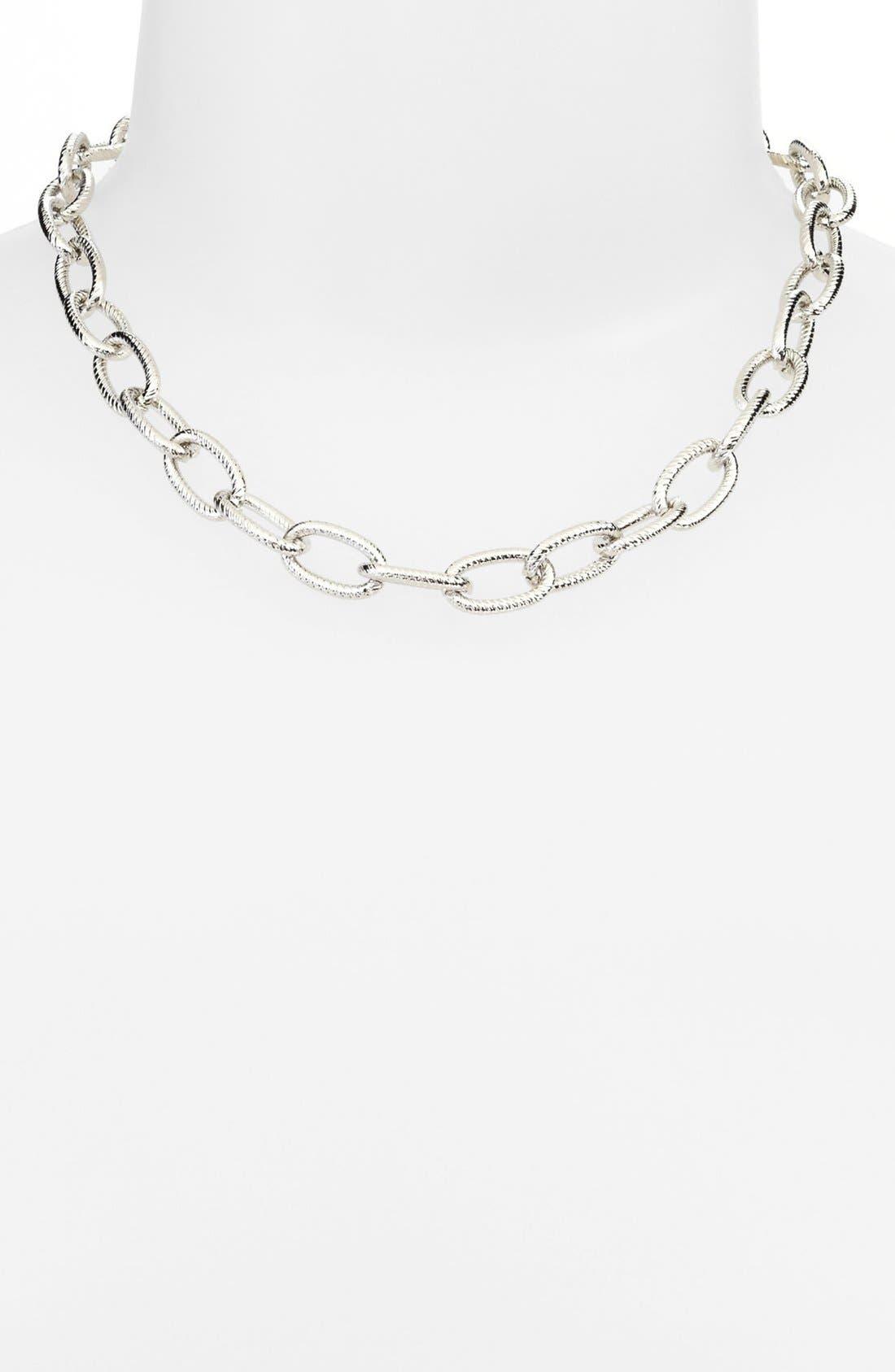 Alternate Image 1 Selected - Nordstrom Link Collar Necklace