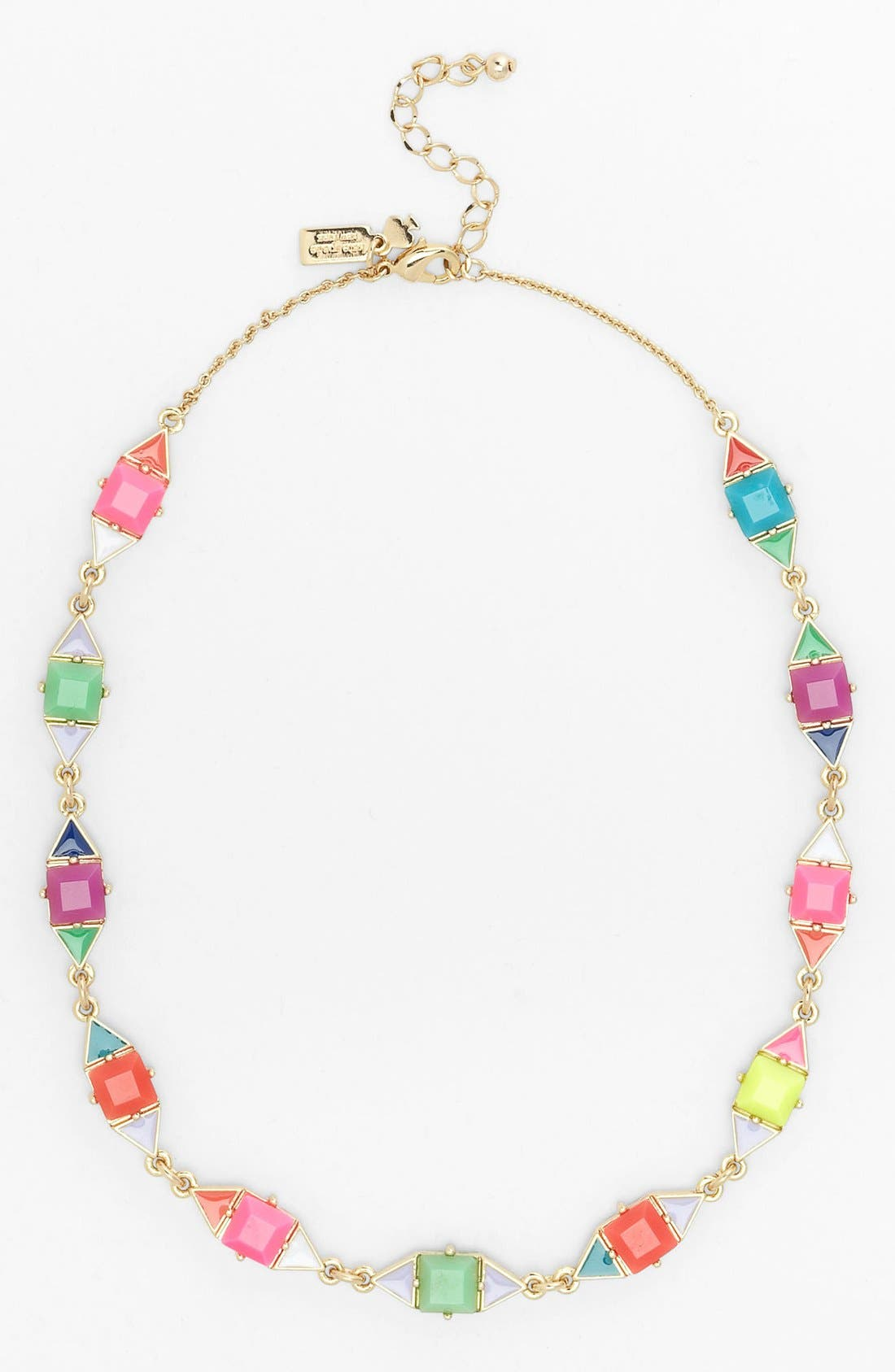 Main Image - kate spade new york 'pueblo tiles' mix shape necklace