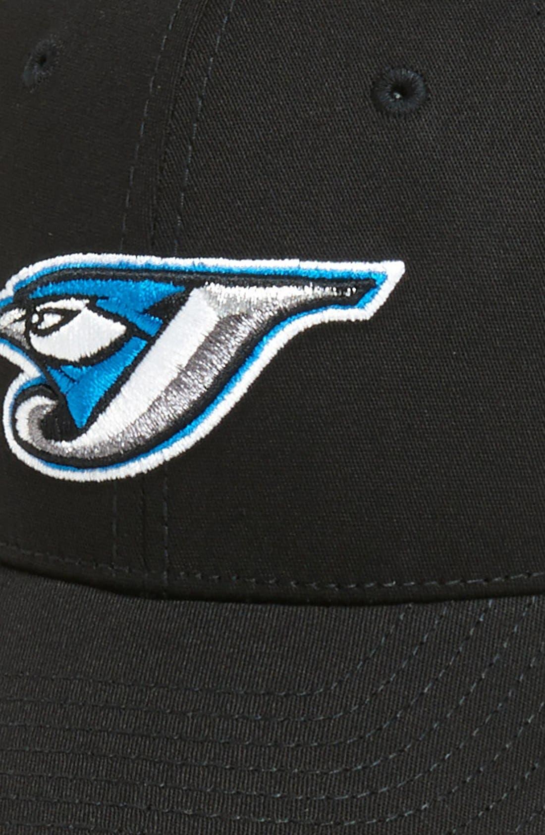 Alternate Image 3  - New Era Cap 'Toronto Blue Jays - Tie Breaker' Baseball Cap (Big Boys)