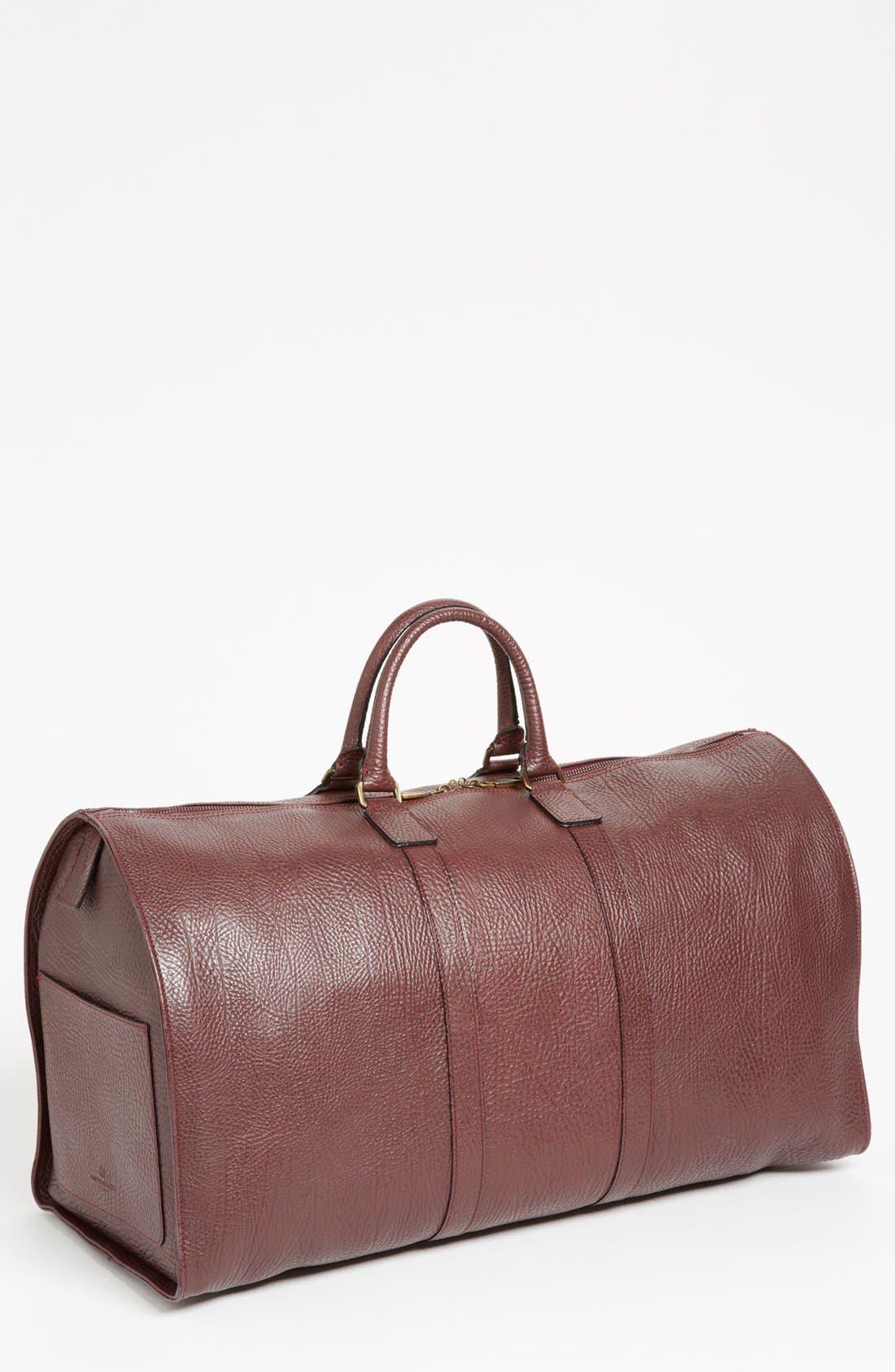 Alternate Image 1 Selected - Bruno Magli 'Anselmo' Calfskin Duffel Bag